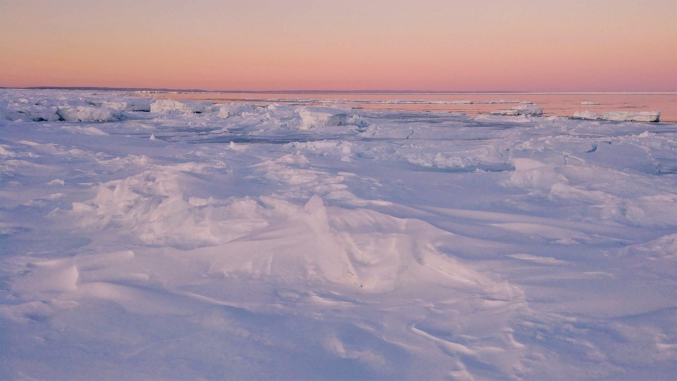 Région Chaleur coucher soleil plage Beresford