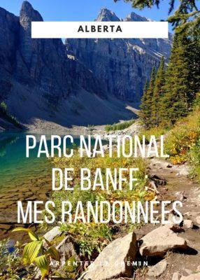Idées de randonnées au parc national de Banff, Canada