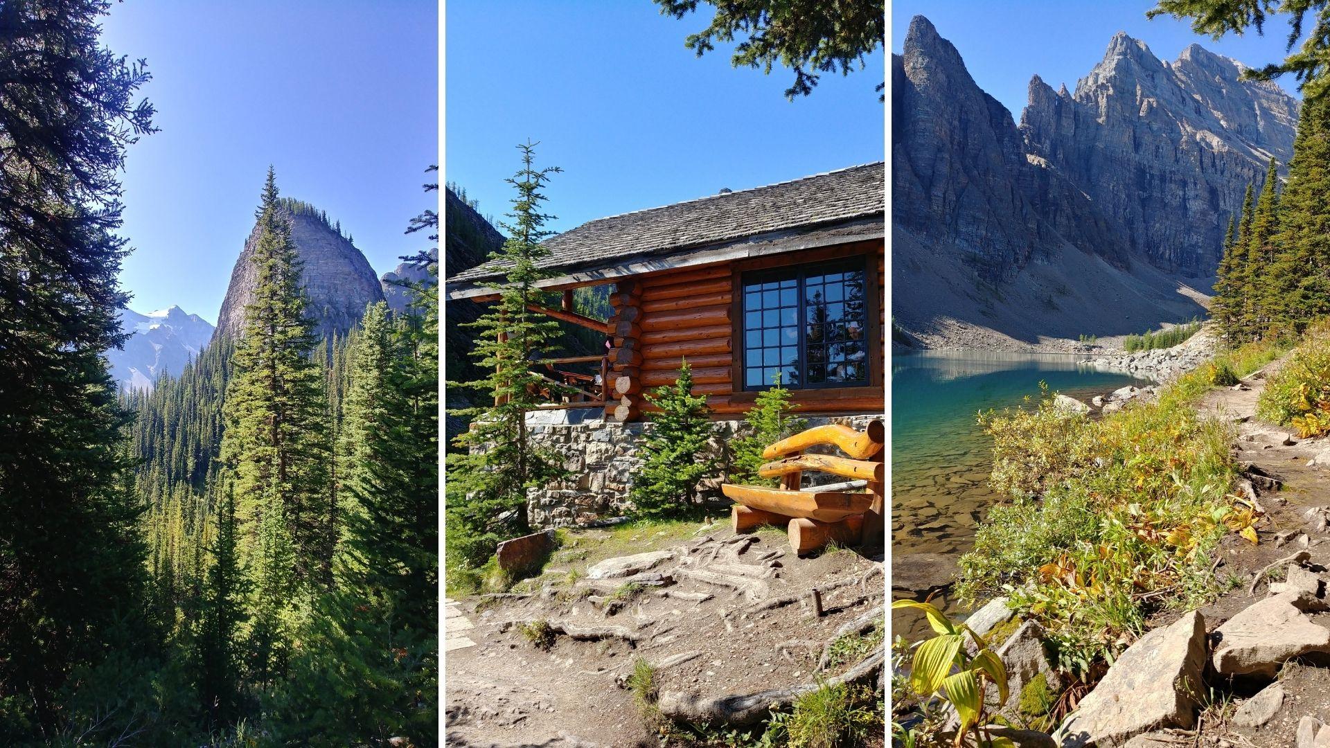 Lac Agnes, parc de Banff, Canada