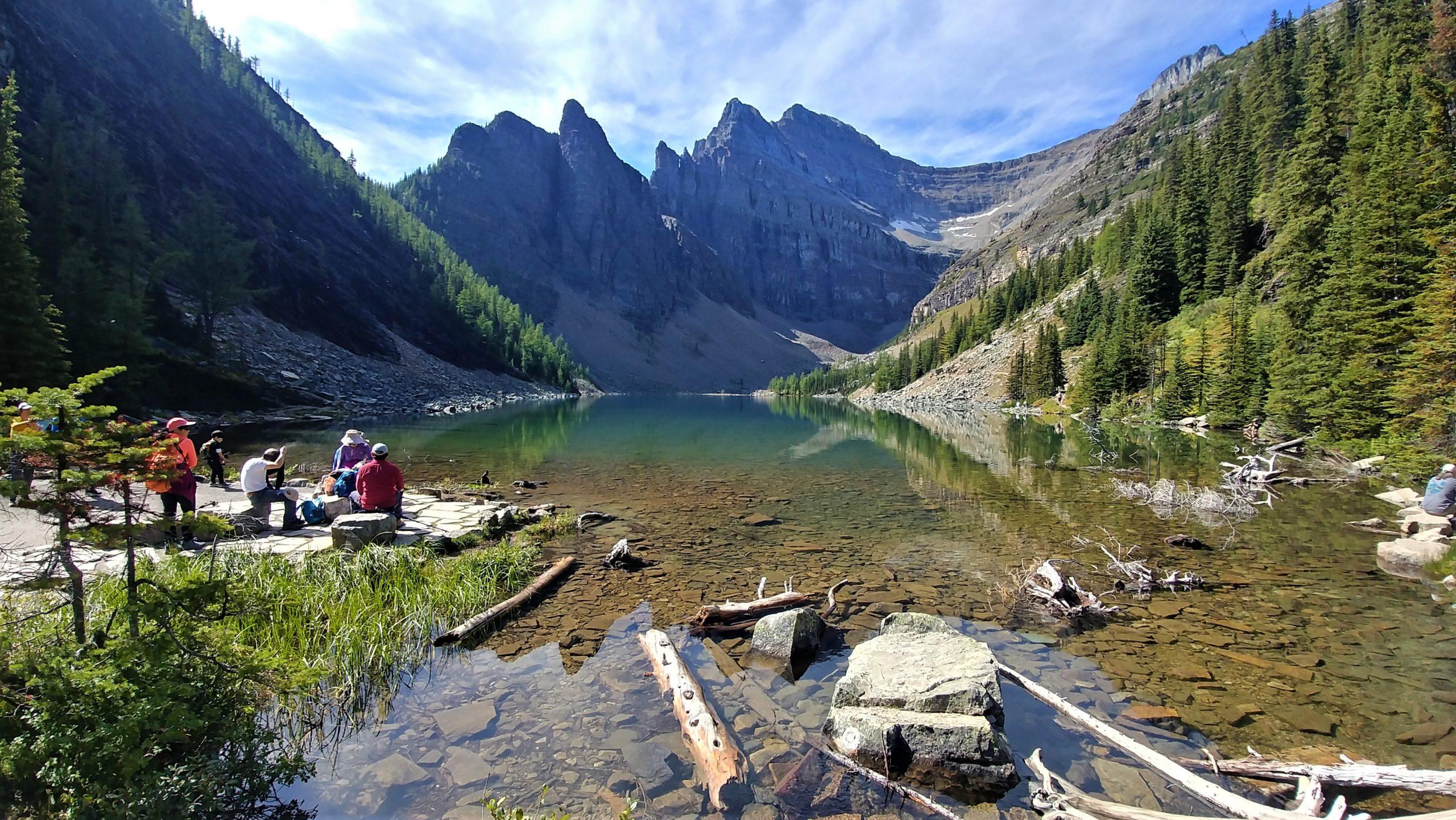 Lac Agnes - parc national de Banff, Canada