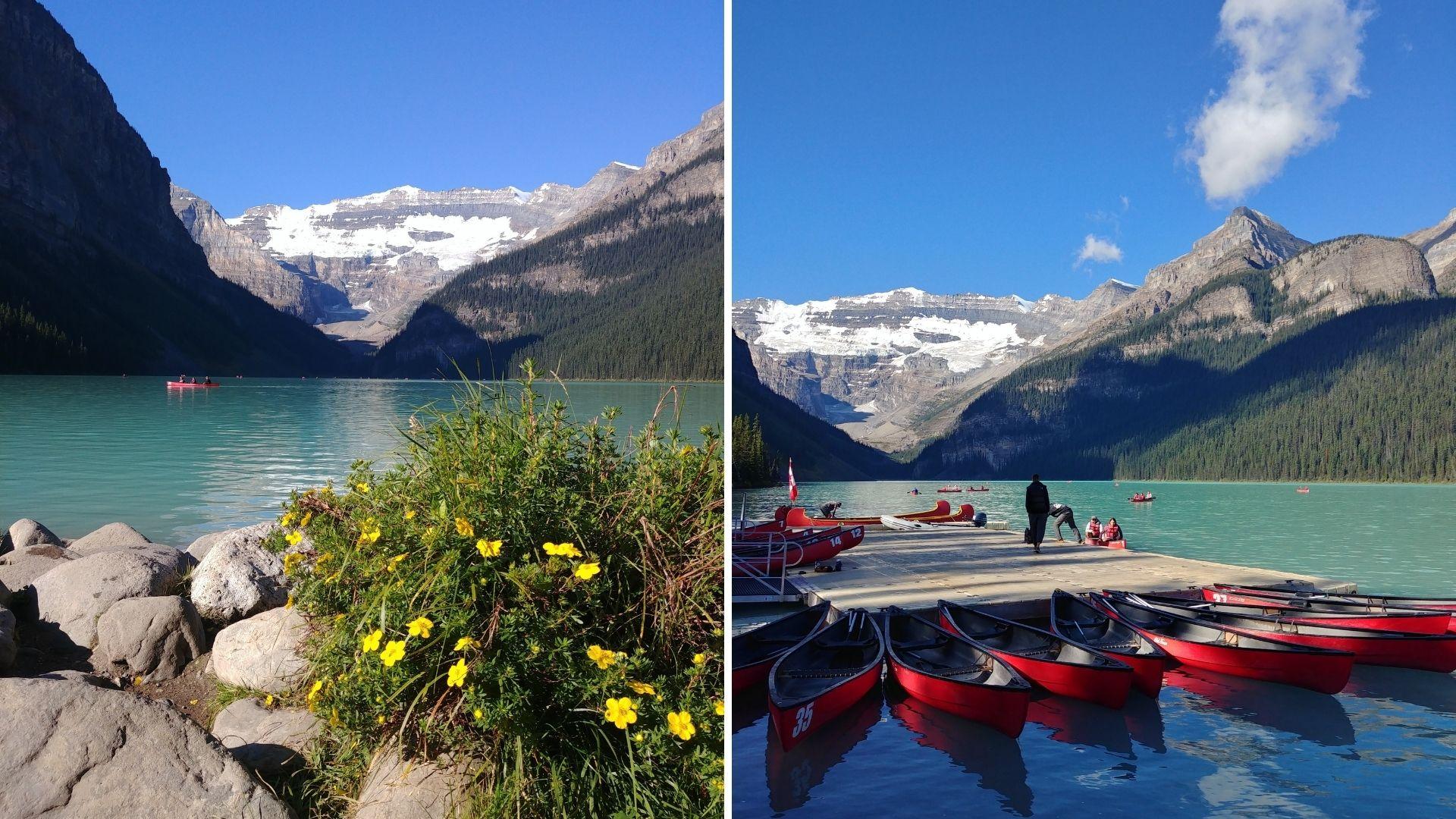 Lac Louise, parc de Banff, Canada