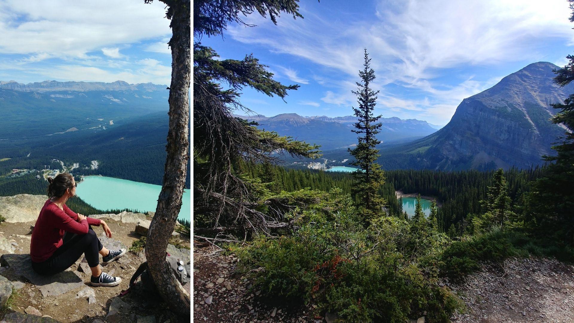 Randonnée Little Beehive, parc national de Banff Canada