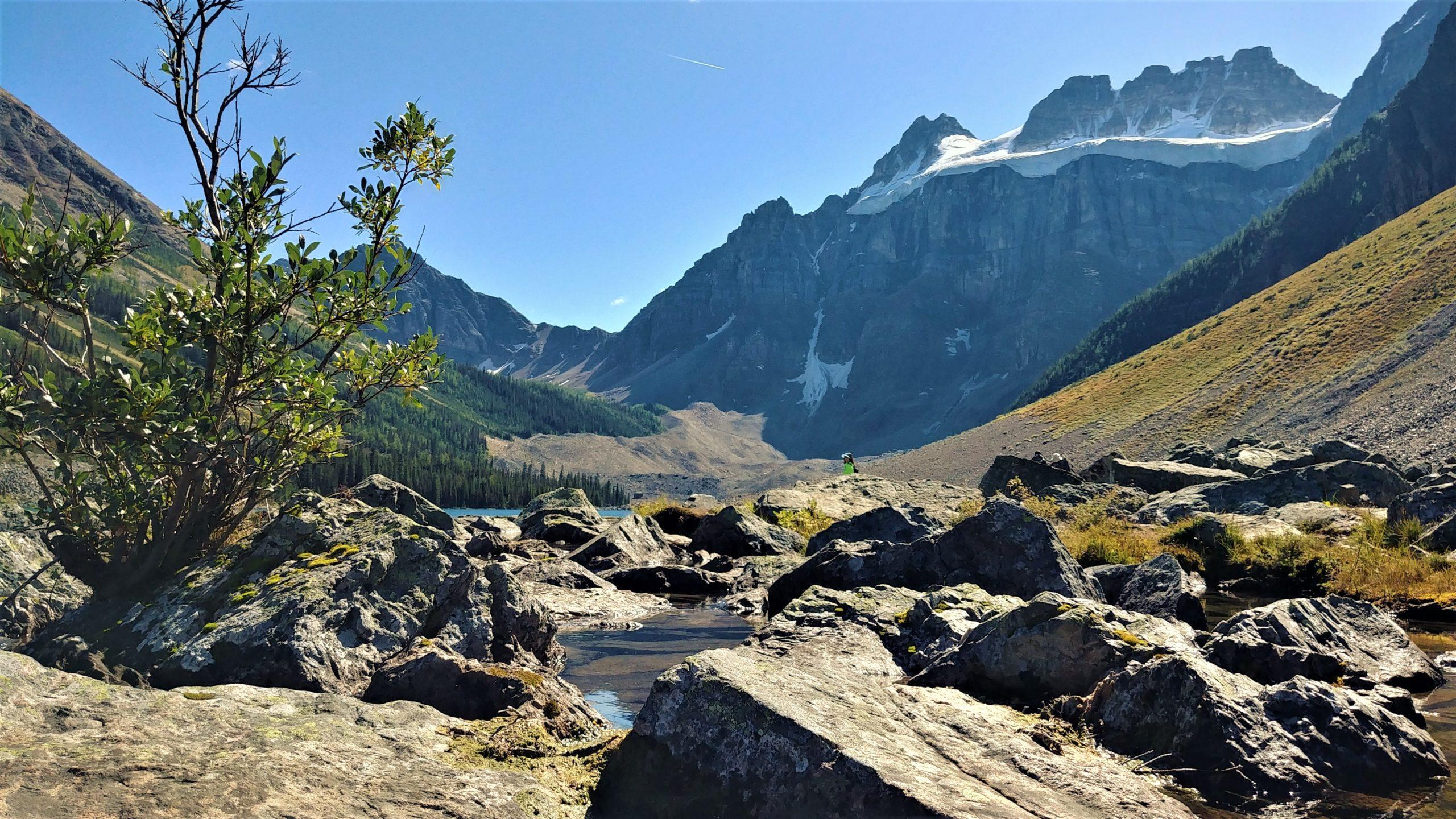 Randonnée parc national Banff Canada