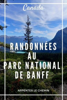 Randonnées autour de Banff, Canada
