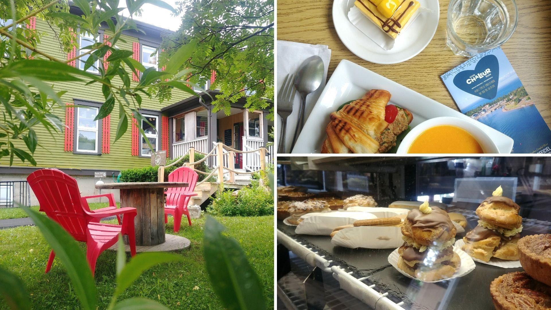 Auberge d'Anjou Cocooning Café Petit-Rocher - Région Chaleur - Nouveau-Brunswick