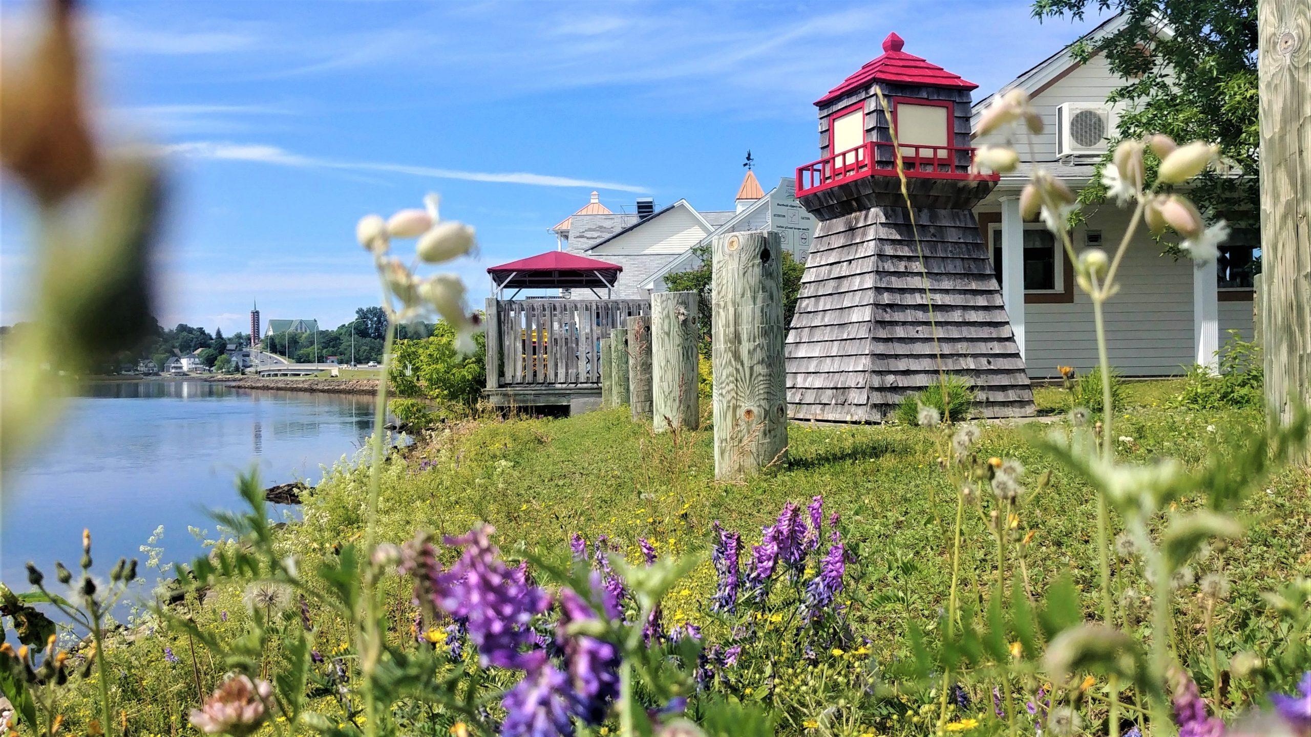 Bathurst Promenade Waterfront activités région Chaleur blog voyage Nouveau-Brunswick Canada Arpenter le chemin