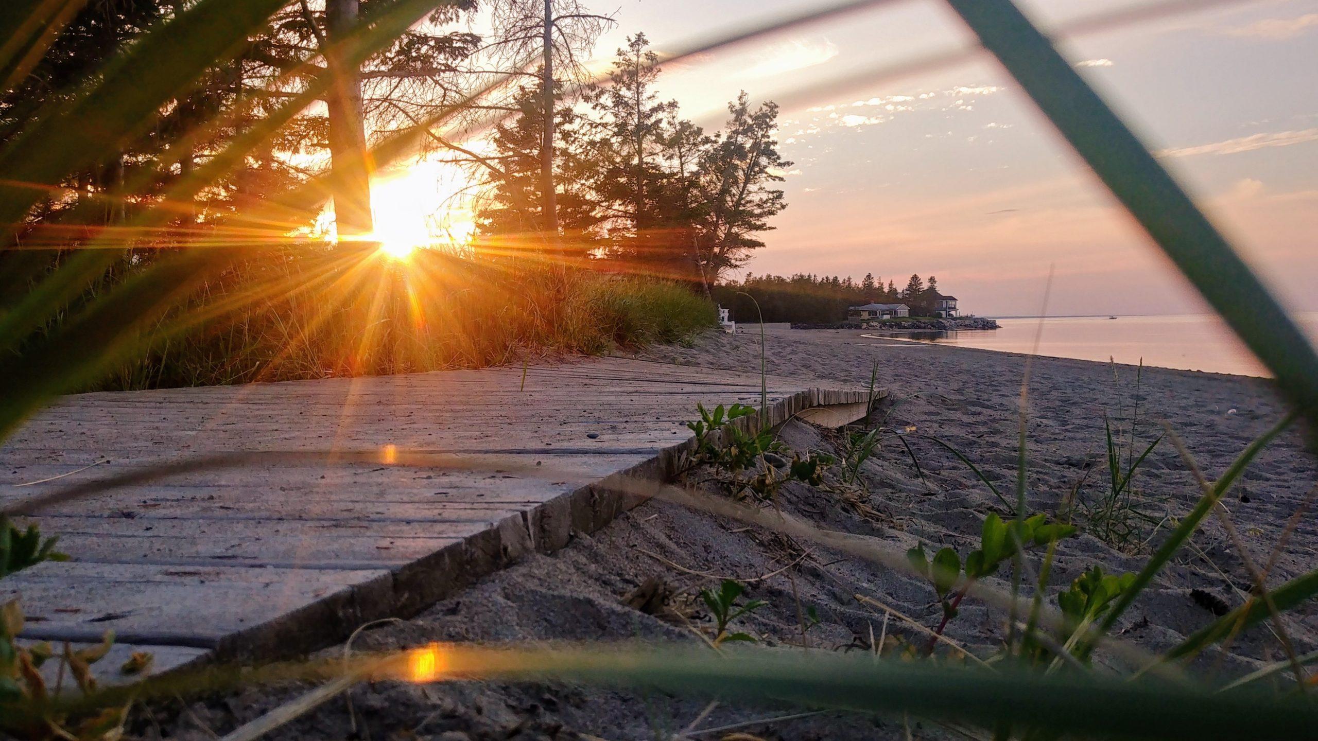 Bathurst plage Youghall que faire région Chaleur blog voyage Nouveau-Brunswick