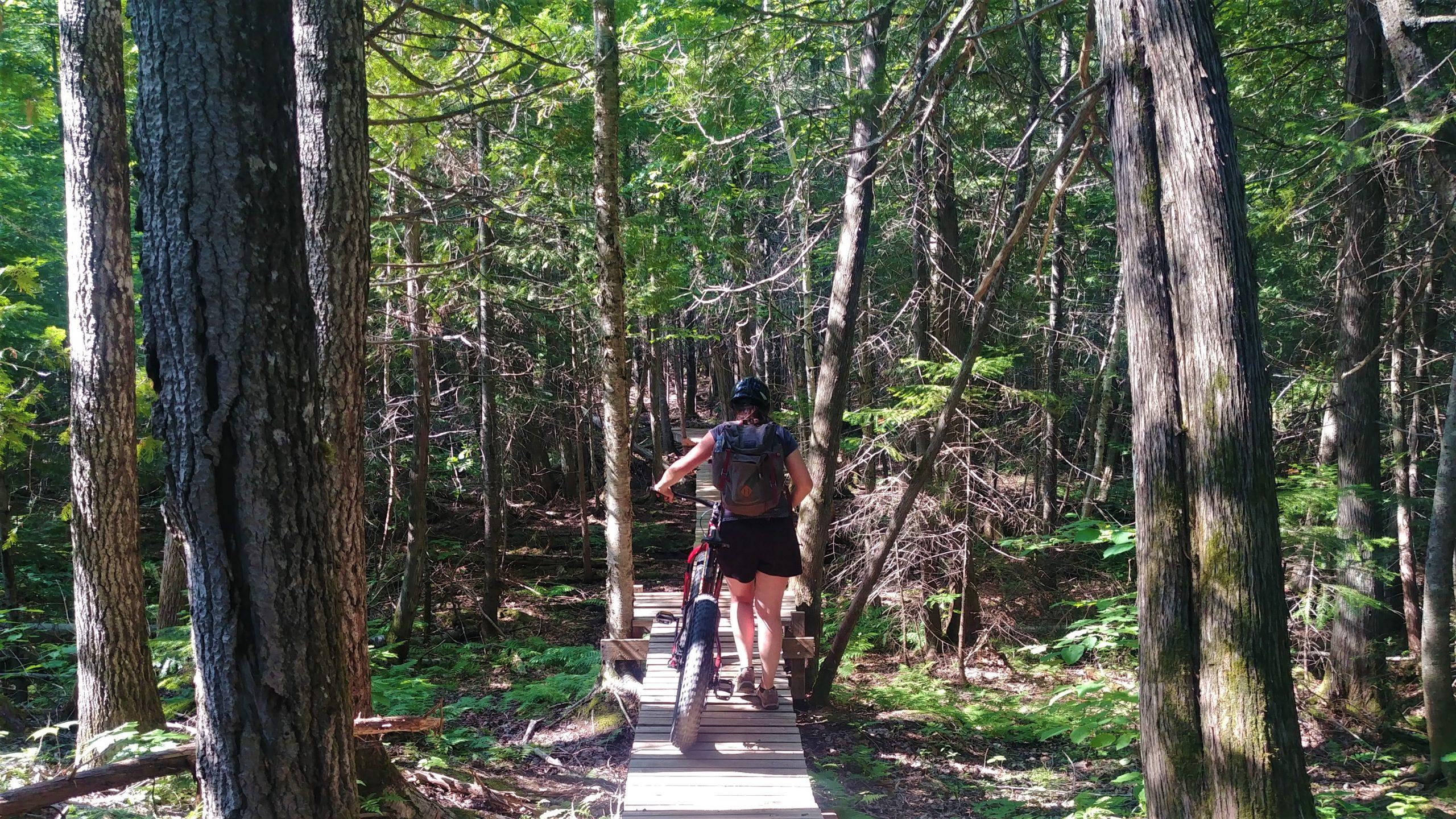 Bathurst sentiers MFB Chaleur vélo montagne blog voyage Arpenter le chemin