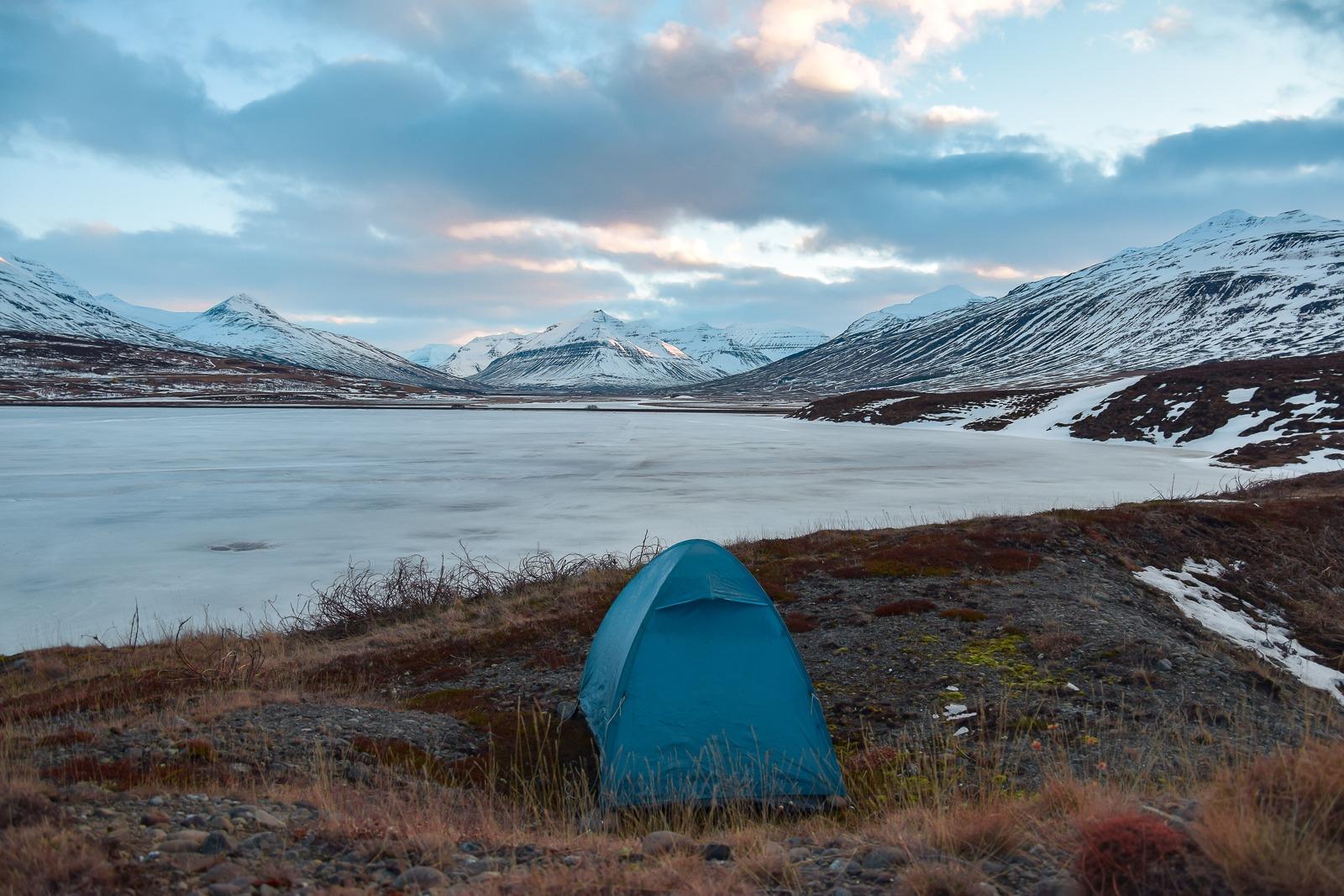 Bivouac solo au féminin peur du camping