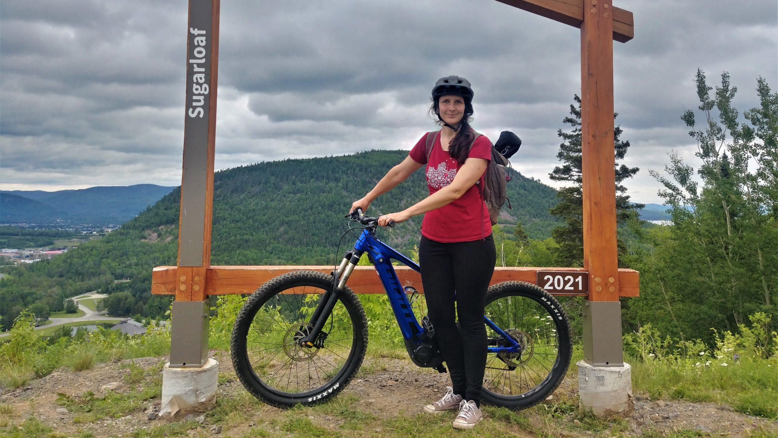 Campbellton vélo parc Sugarloaf Nouveau-Brunswick blog voyage