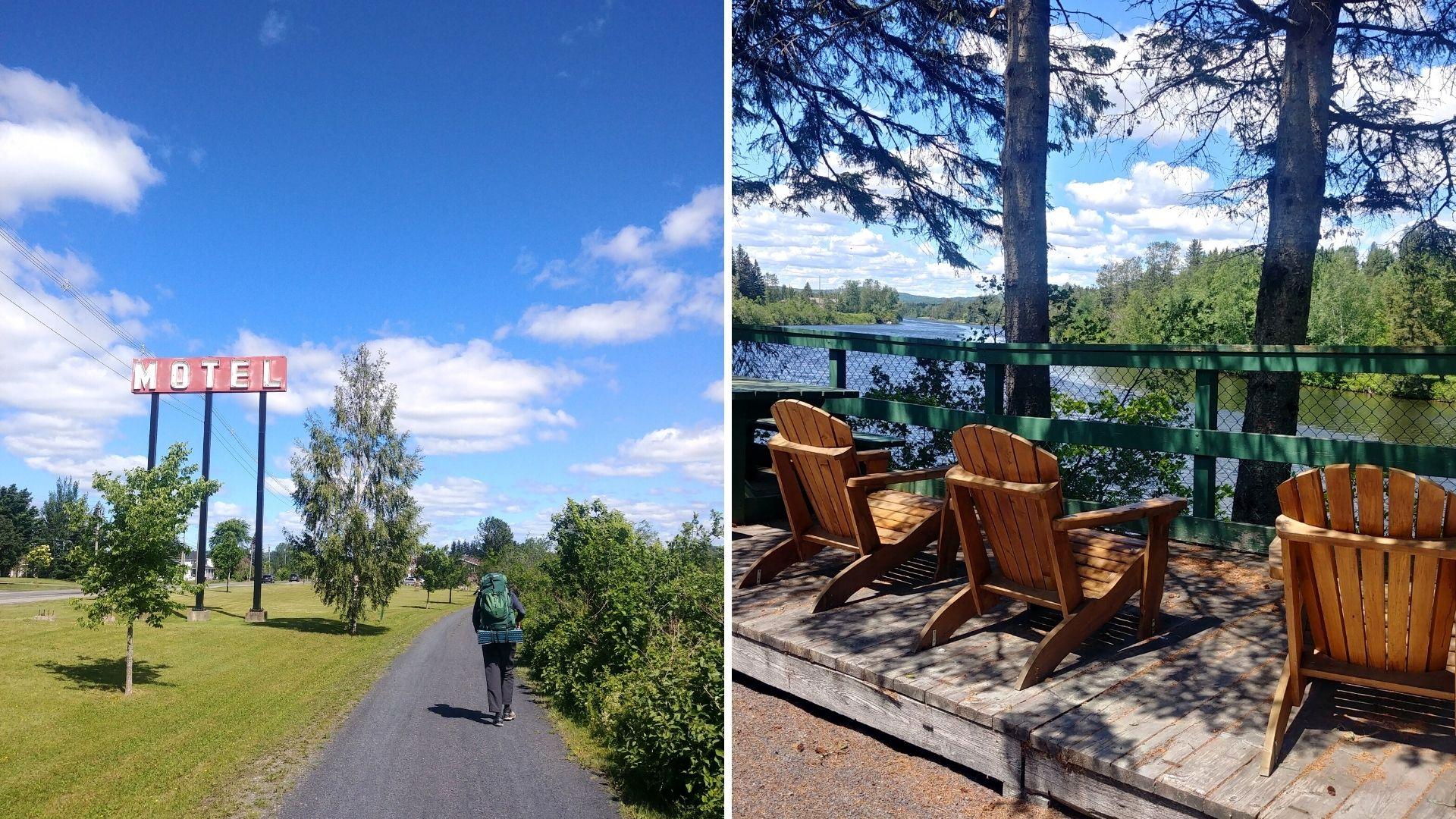 Edmundston Meruimticook longue randonnée Nouveau-Brunswick