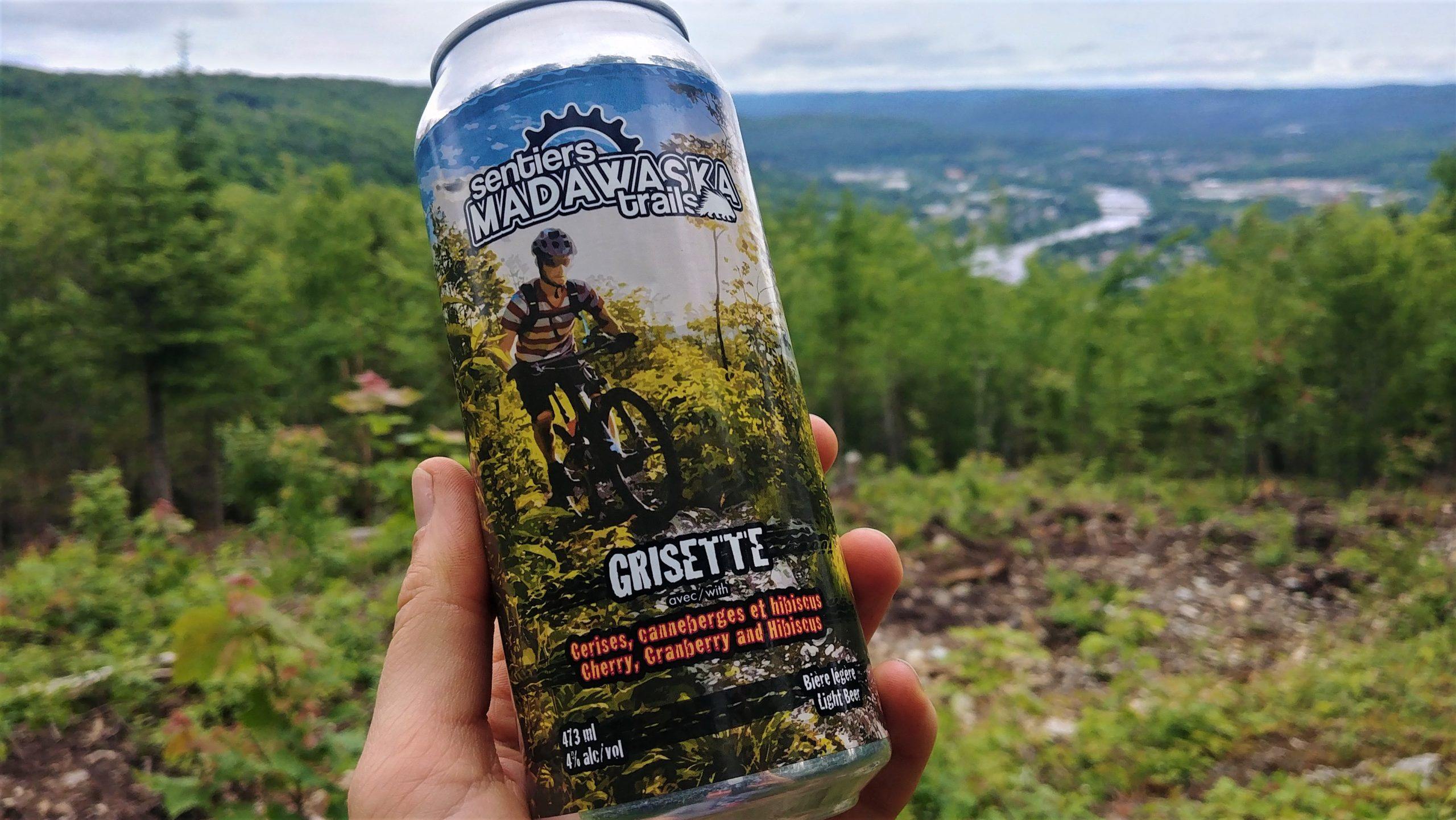 Edmundston Sentiers Madawaska vélo de montagne nouveau-Brunswick blog voyage Arpenter le chemin