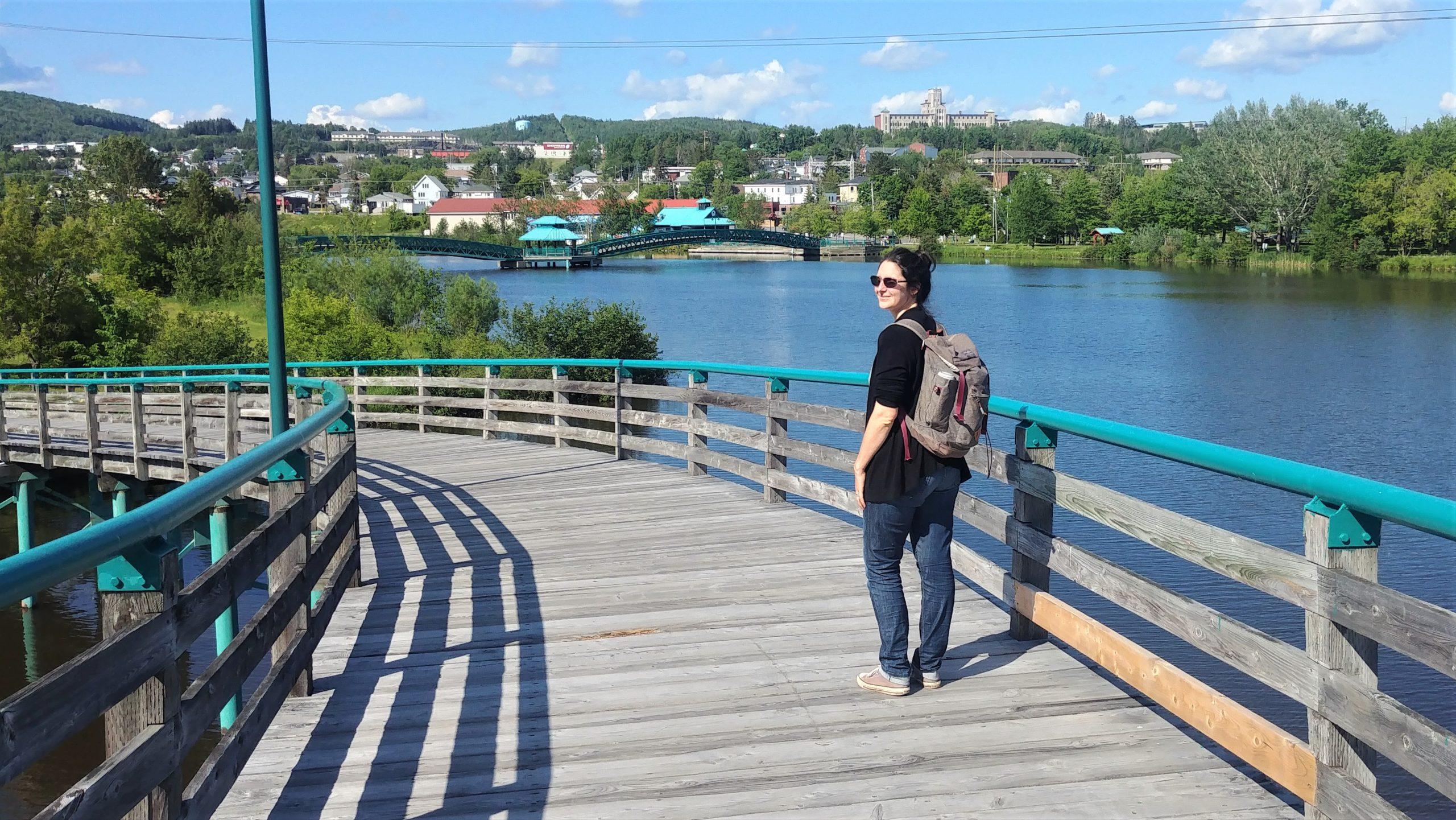 Edmundston activités Nouveau-Brunswick blog voyage arpenter le chemin