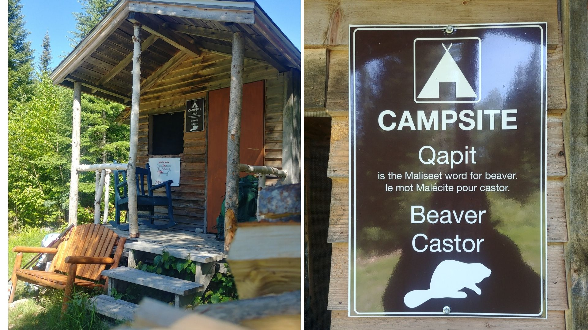 Edmundston sentier Meruimticook camp Sisson Nouveau-Brunswick