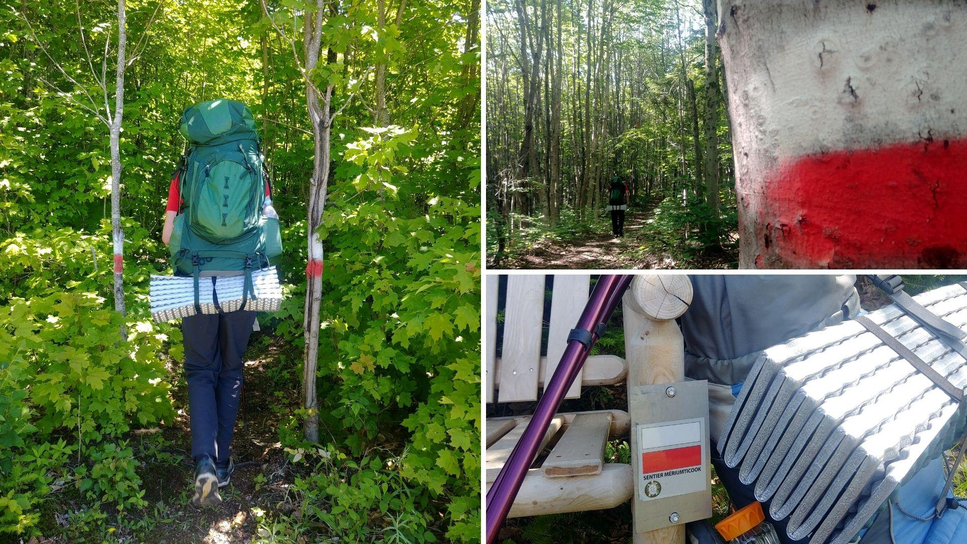 Edmundston sentier Meruimticook randonnée pédestre Nouveau-Brunswick