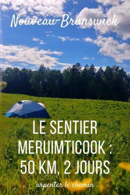 Faire le sentier Meruimticook, Edmundston, Nouveau-Brunswick