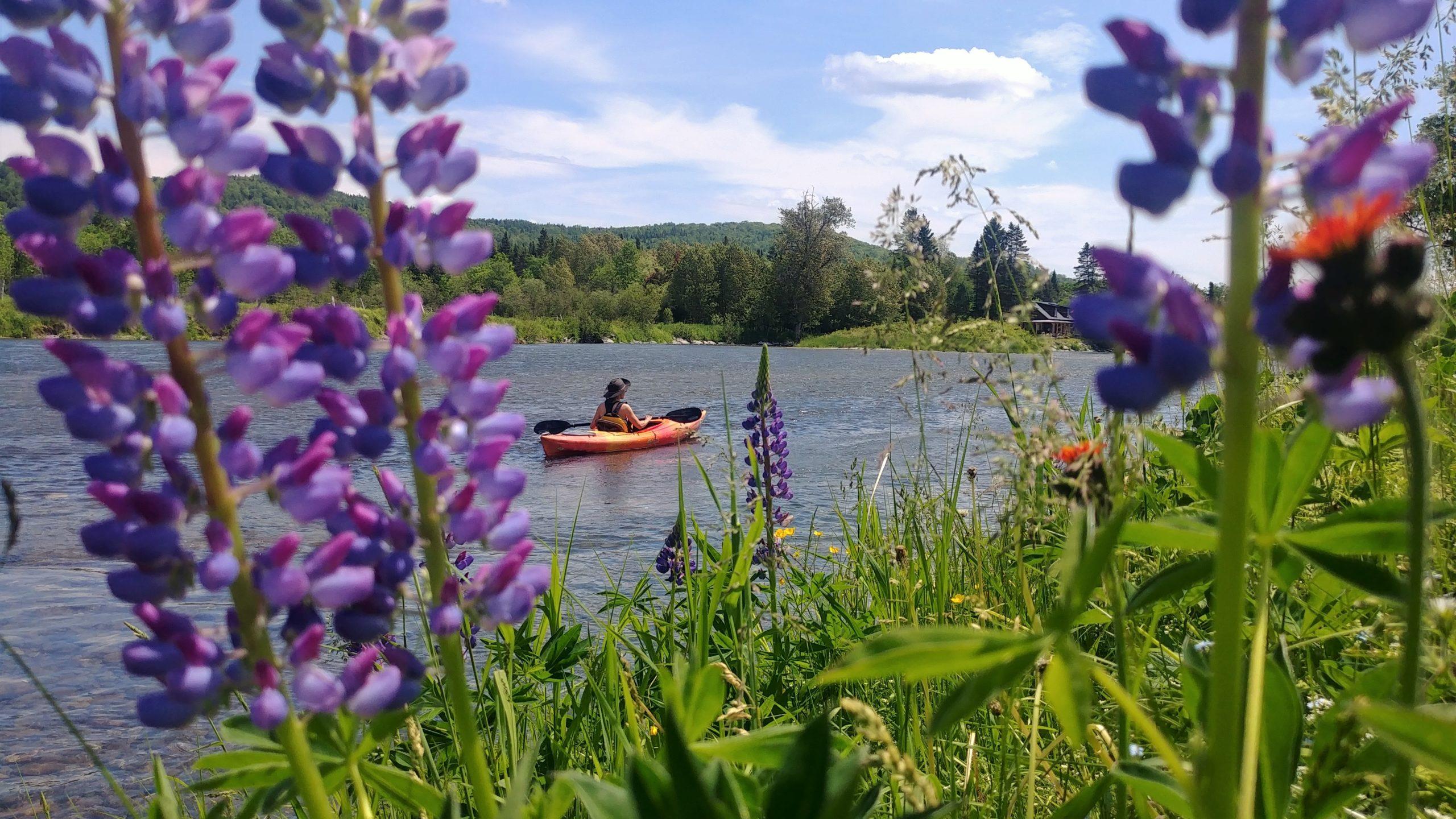 Kayak Edmundston Rivière-verte blog voyage Nouveau-Brunswick