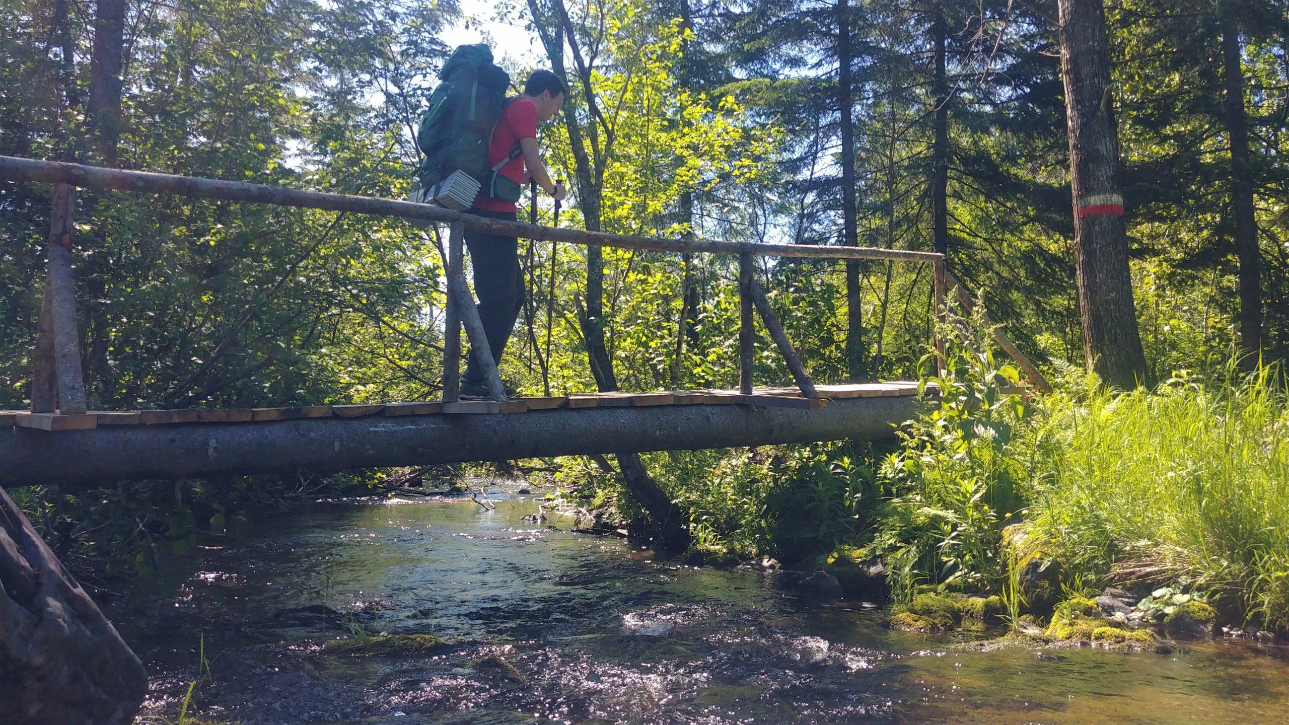 Meruimticook Camp Sisson randonnée nouveau-Brunswick