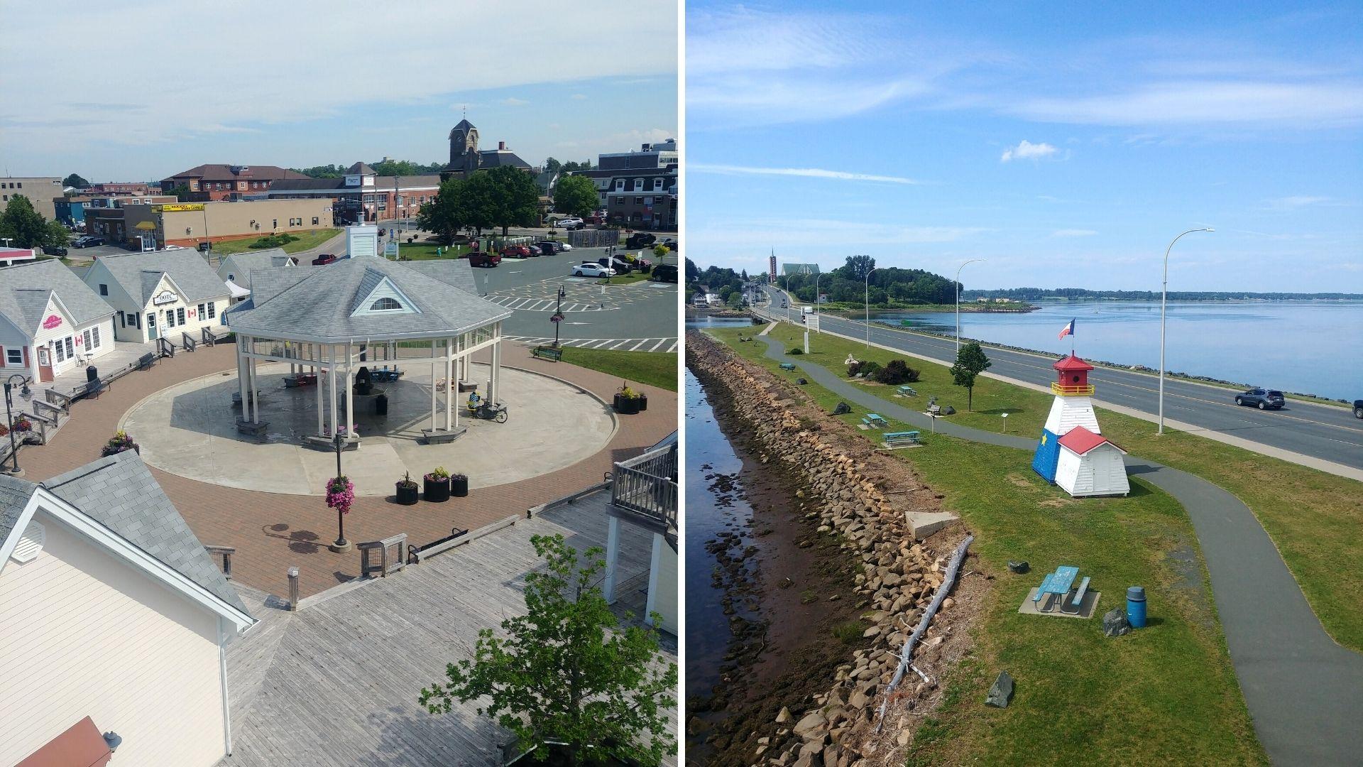 Promenade Waterfront Bathurst - Région Chaleur - Nouveau-Brunswick