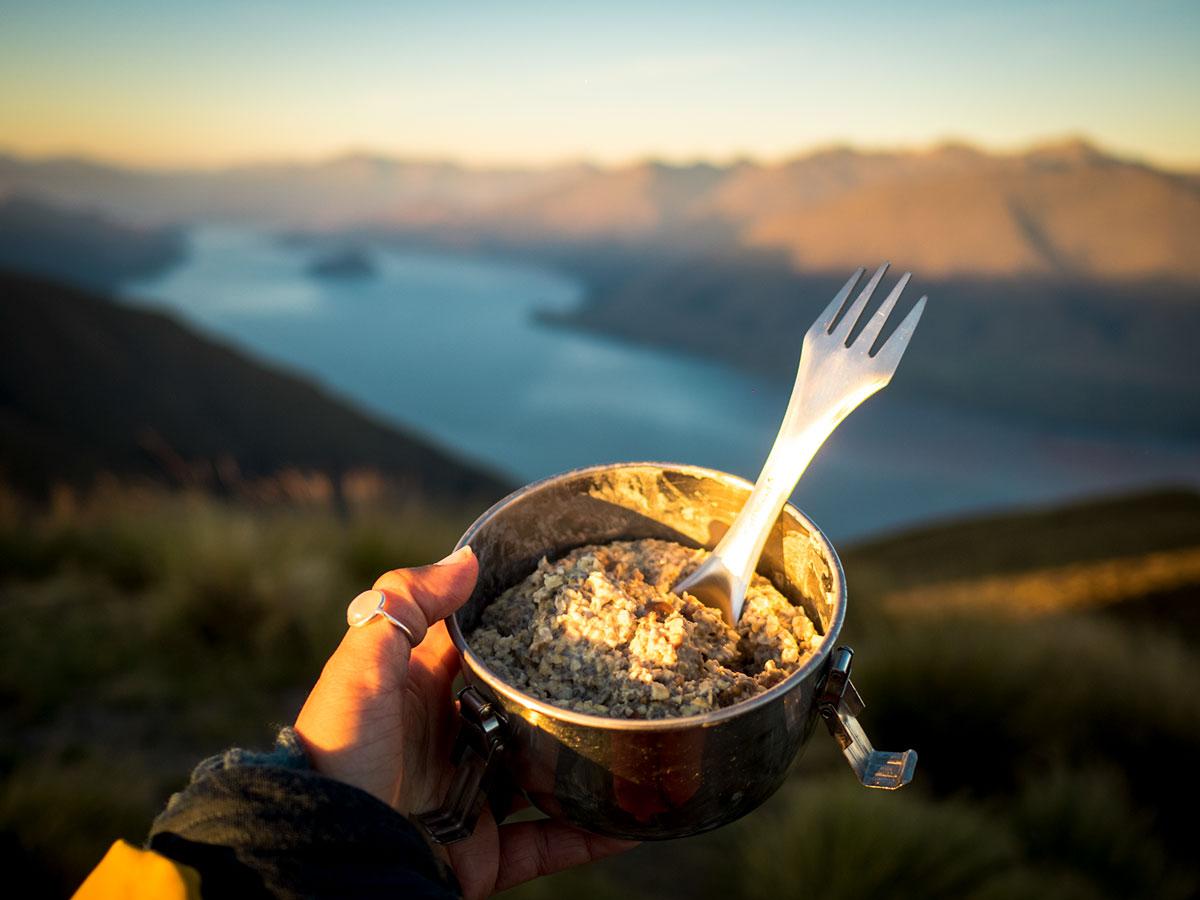 Que manger bivouac longue randonnée