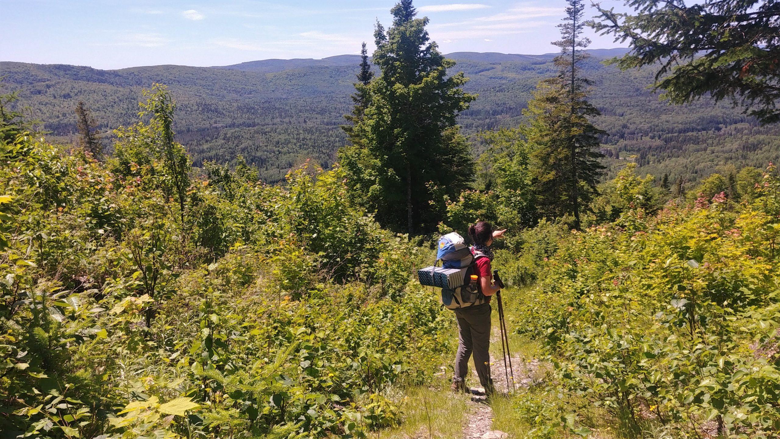 Sentier Meruimticook Edmundston où randonner blog voyage Arpenter le chemin