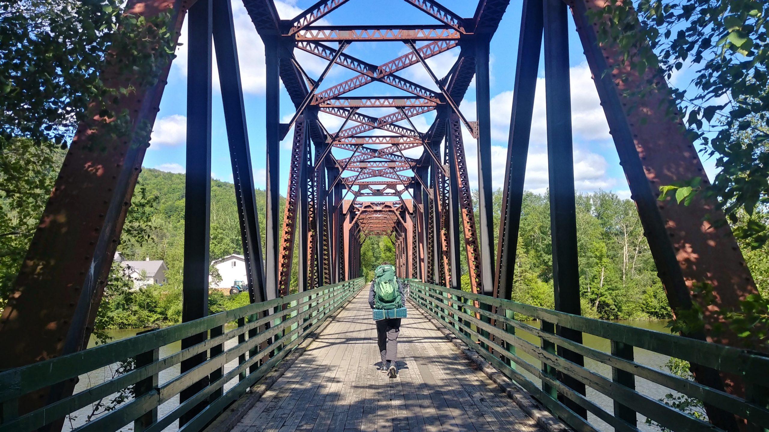 Sentier Meruimticook Trail longue randonnée Nouveau-Brunswick