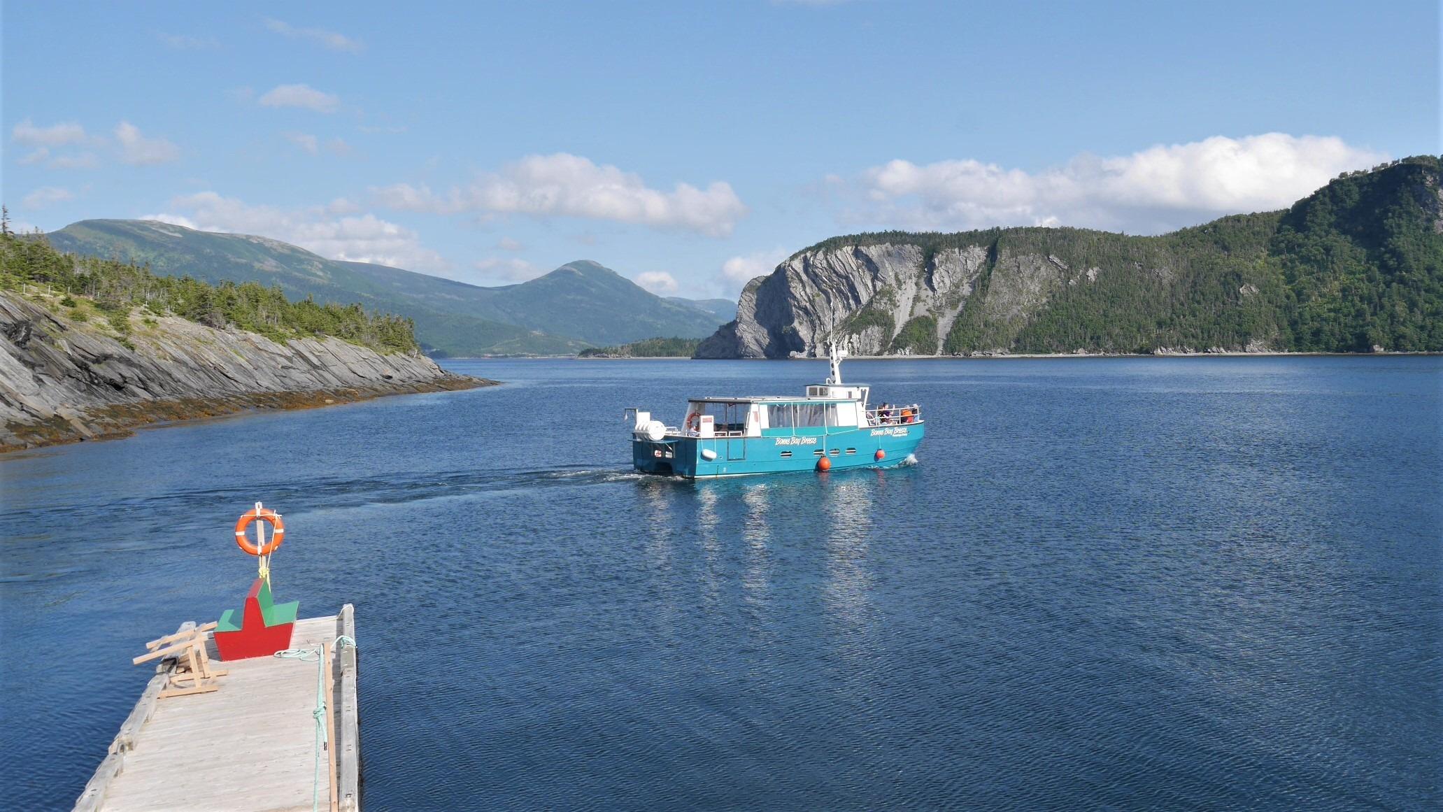 Terre-Neuve Norris Point que voir blog voyage