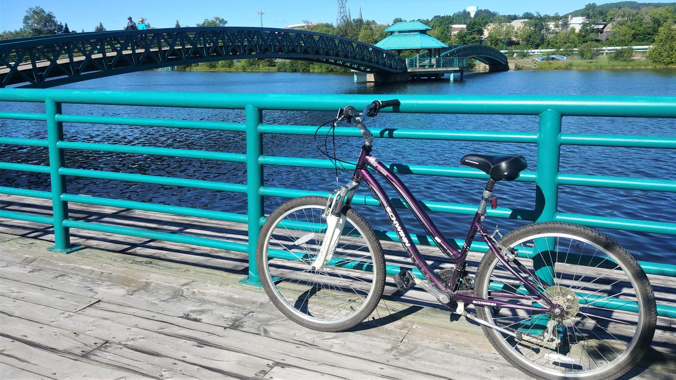 Vélo Petit-Temis Edmundston voyage Nouveau-Brunswick