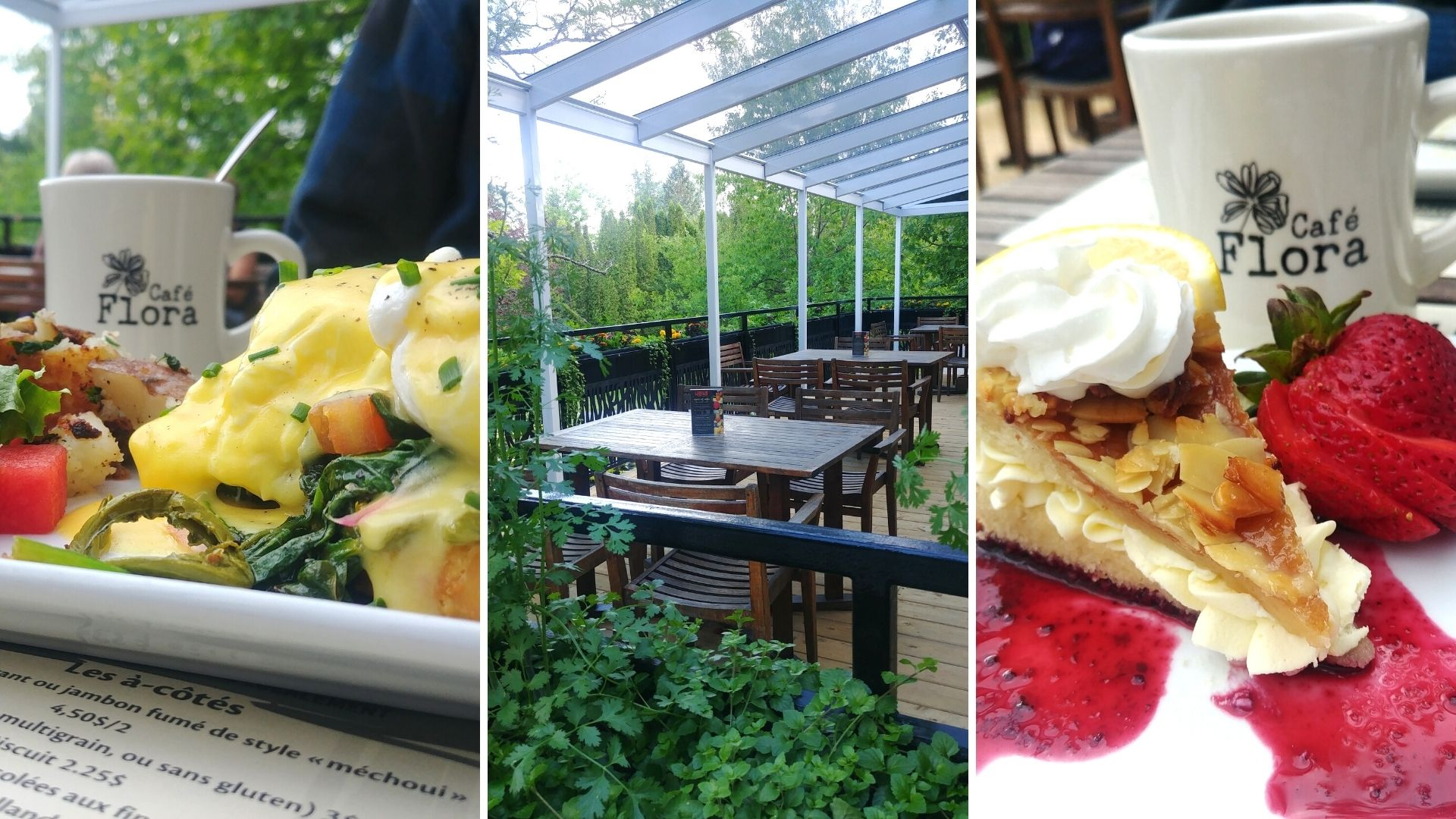 Visiter Edmundston Jardin botanique Café Flora Nouveau-Brunswick