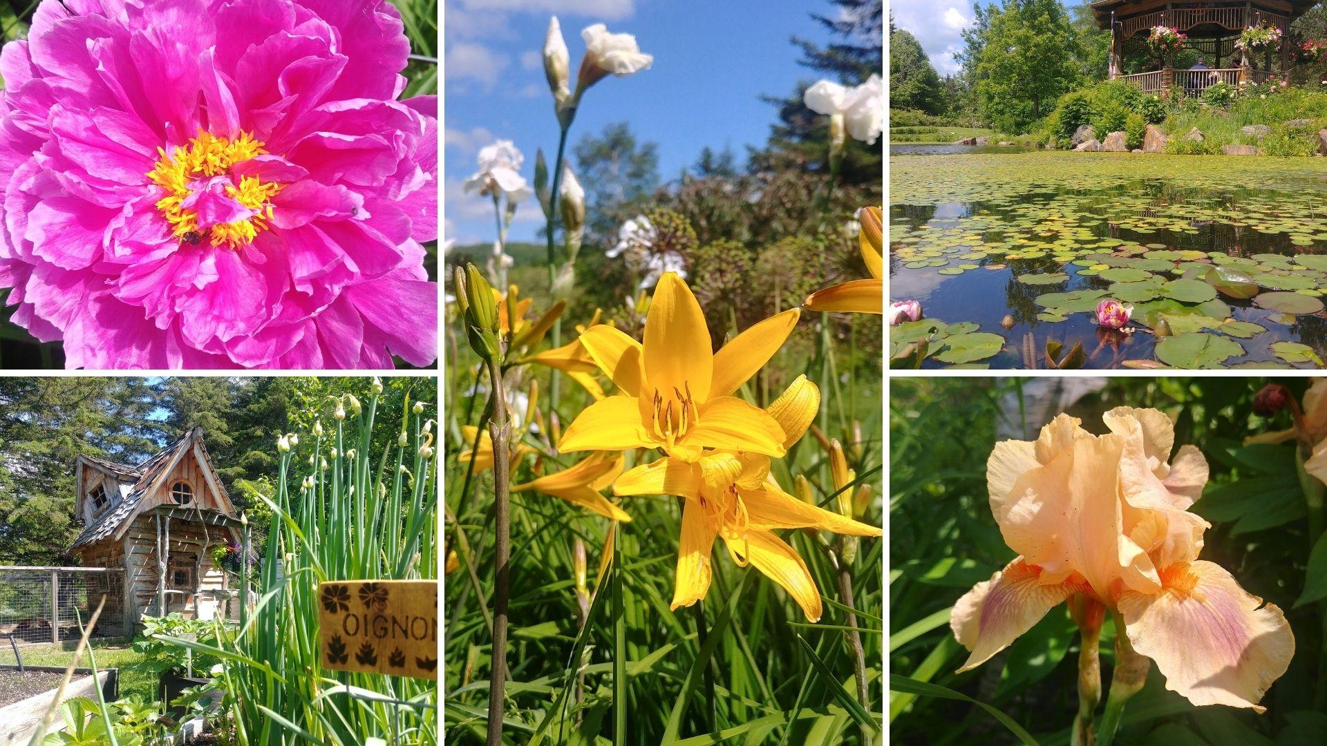 Visiter Edmundston Jardin botanique Nouveau-Brunswick