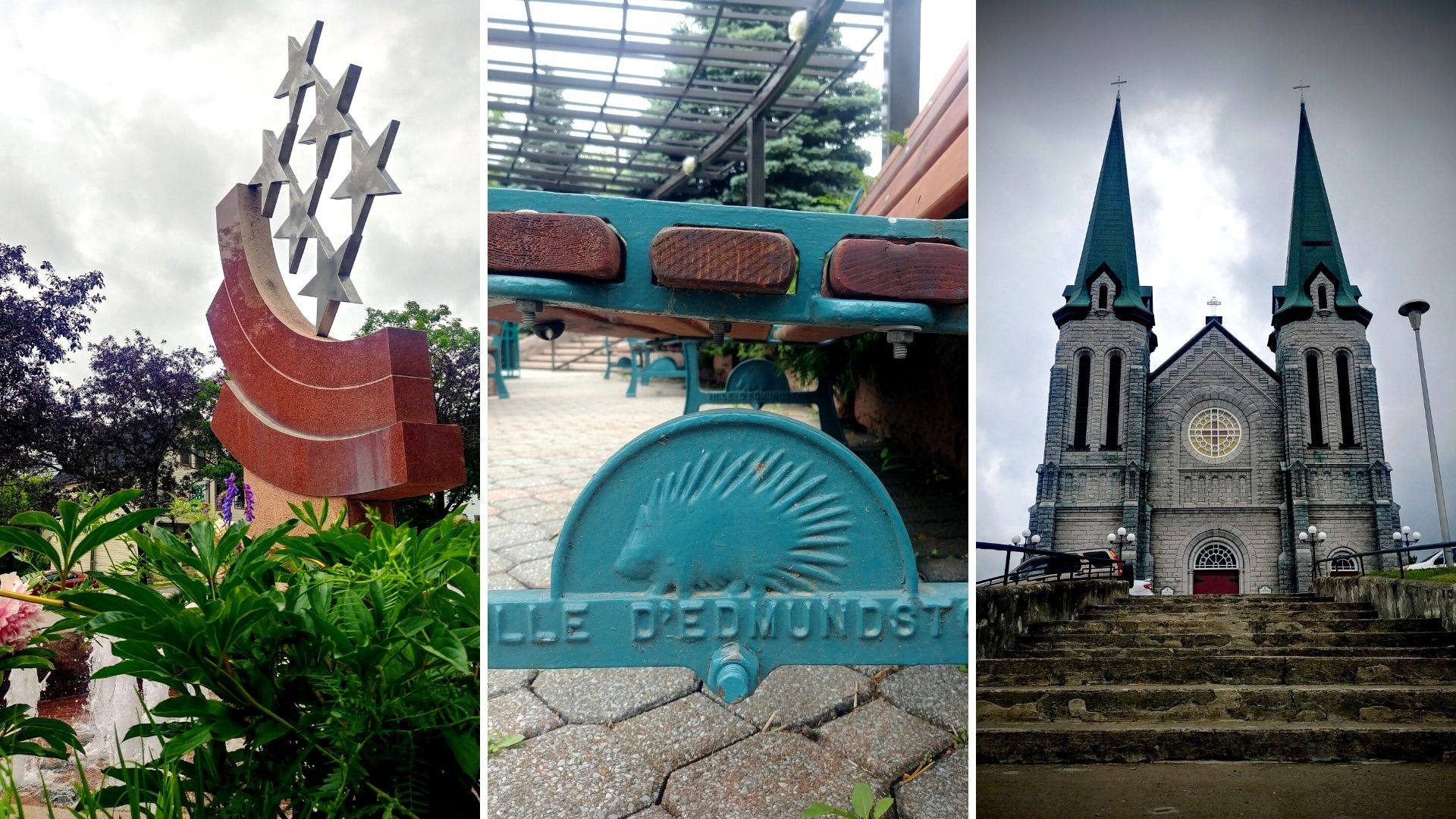 Visiter Edmundston Nouveau-Brunswick centre-ville balado