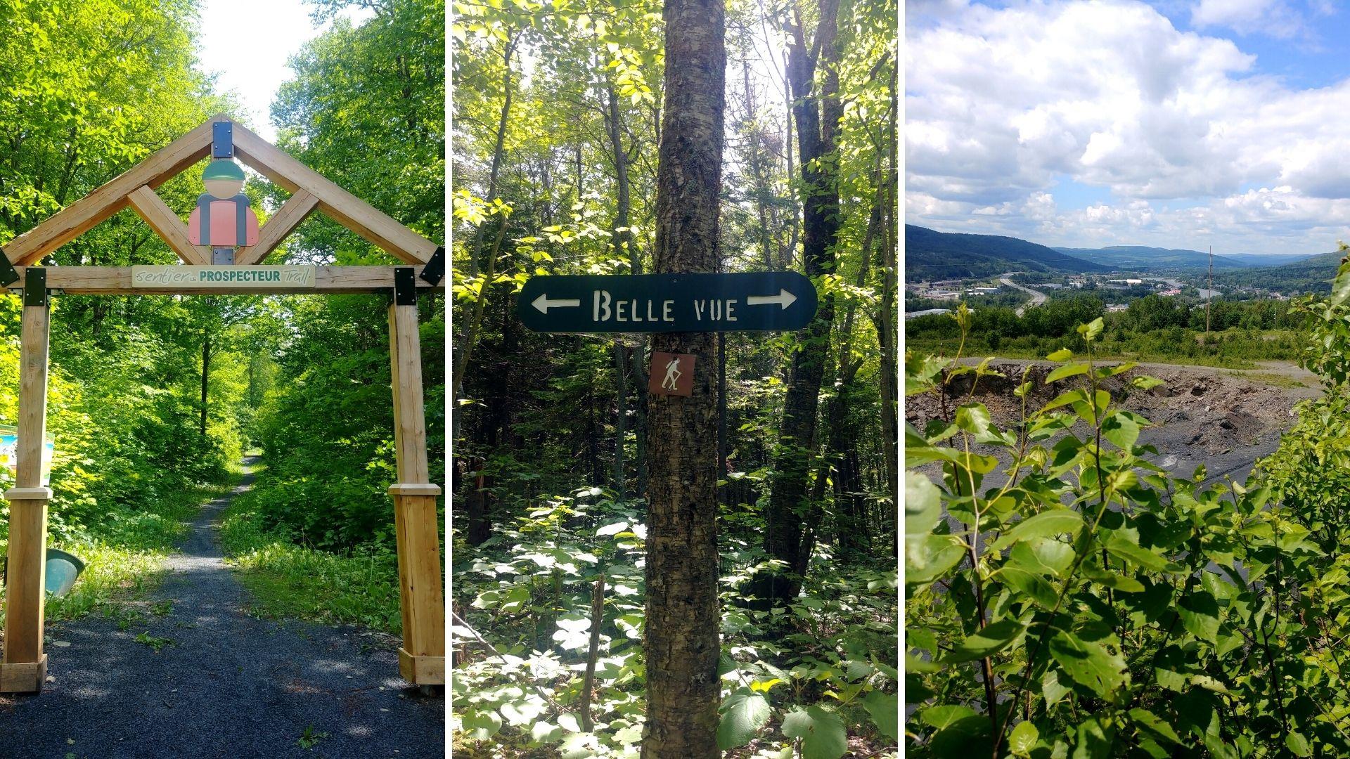 Visiter Edmundston Nouveau-Brunswick randonnée sentiers du Prospecteur