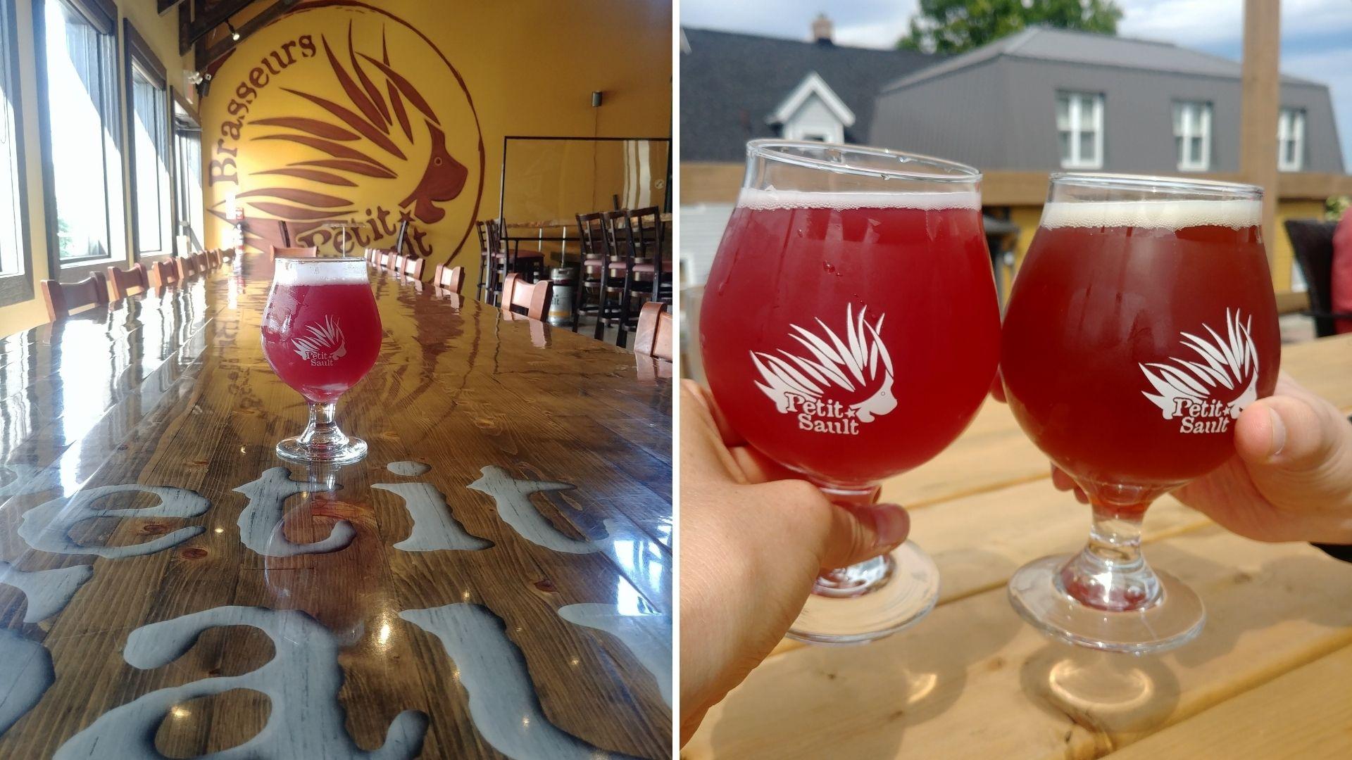 Visiter Edmundston bière brasseurs du Petit Sault Nouveau-Brunswick