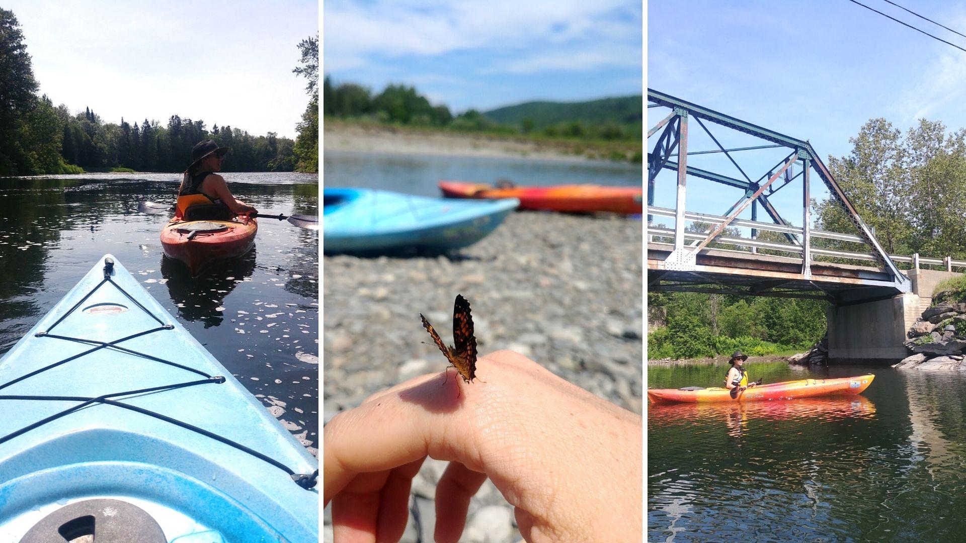 Visiter Edmundston kayak Rivière Verte Kasakayak Nouveau-Brunswick