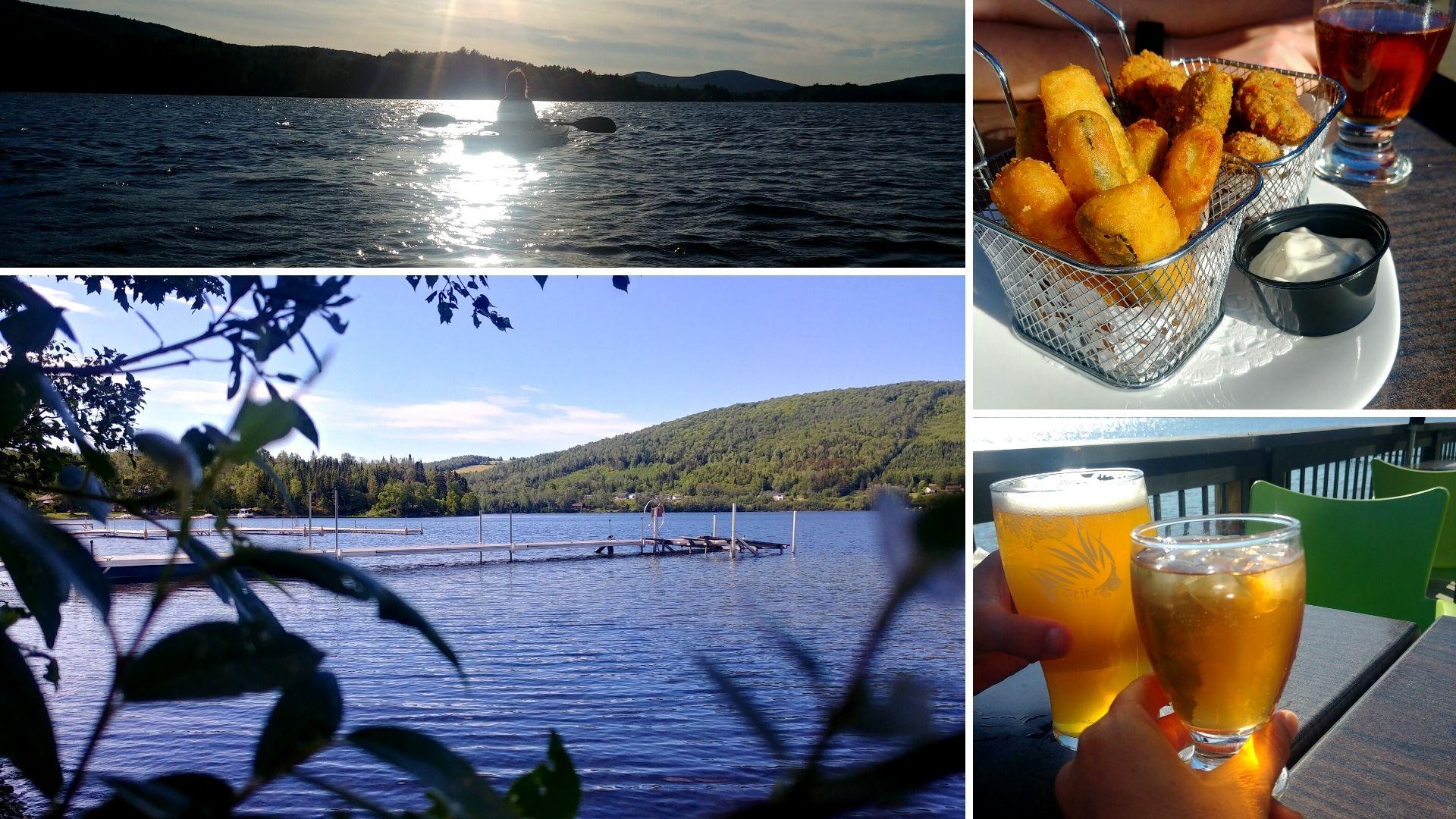 Visiter edmundston Lac Baker Camping Rest-o-Lac Nouveau-Brunswick