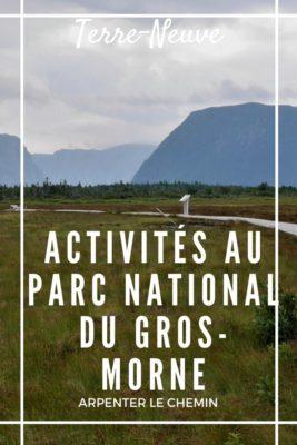 Voyage au parc national du Gros-Morne, Terre-Neuve, Canada