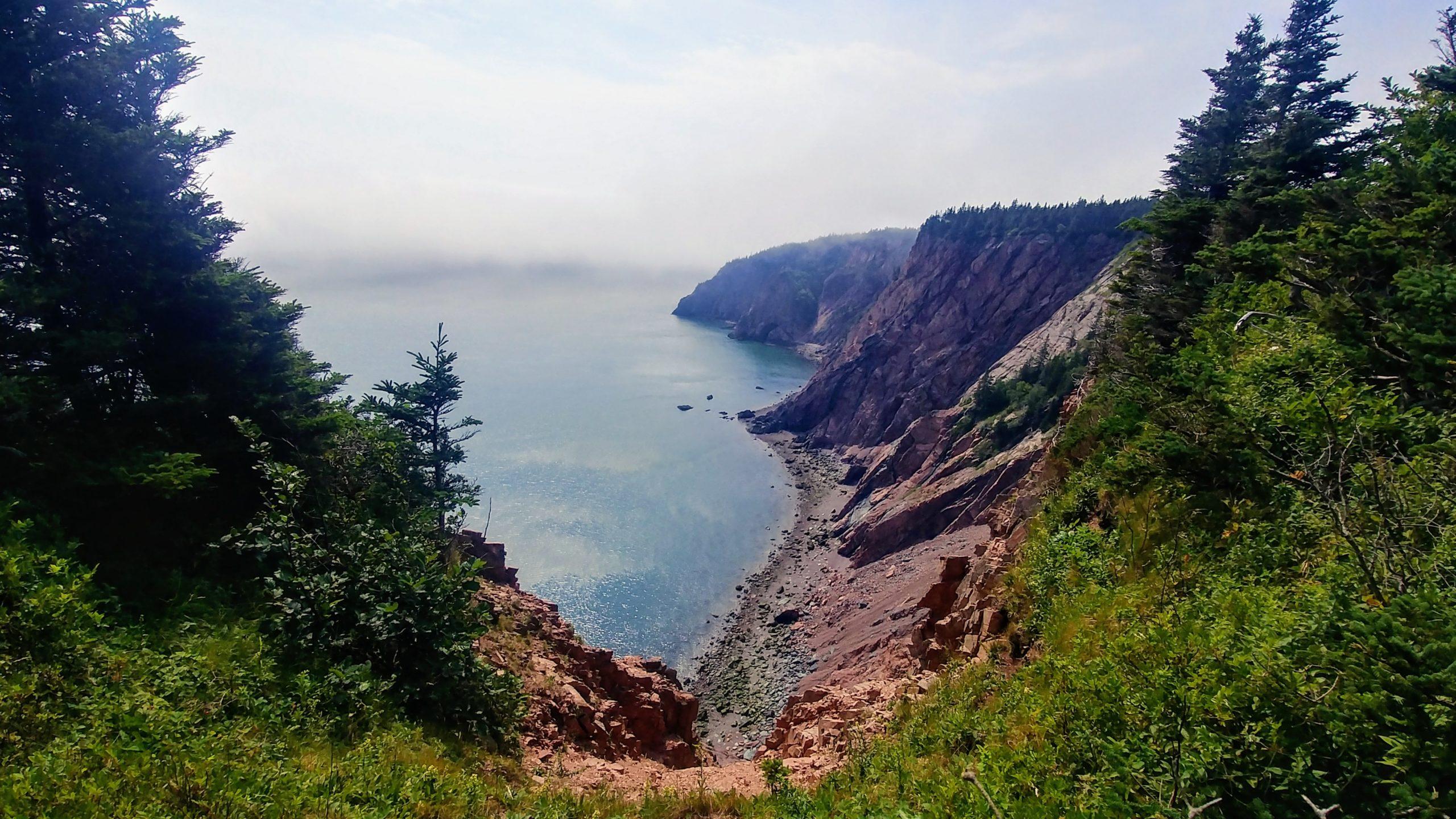 2-Cape Chignecto longue randonnée Nouvelle-Écosse Canada