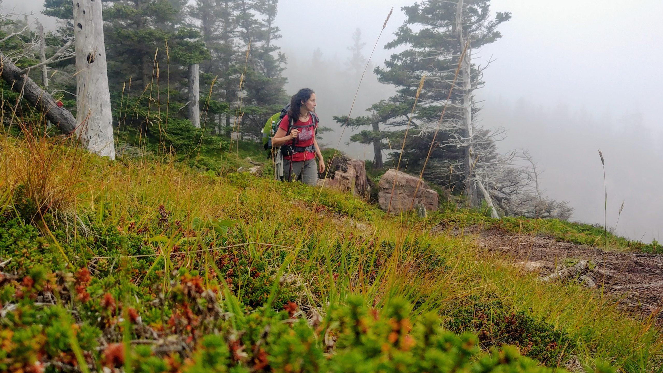3-Cap Chignecto randonnée solo femme