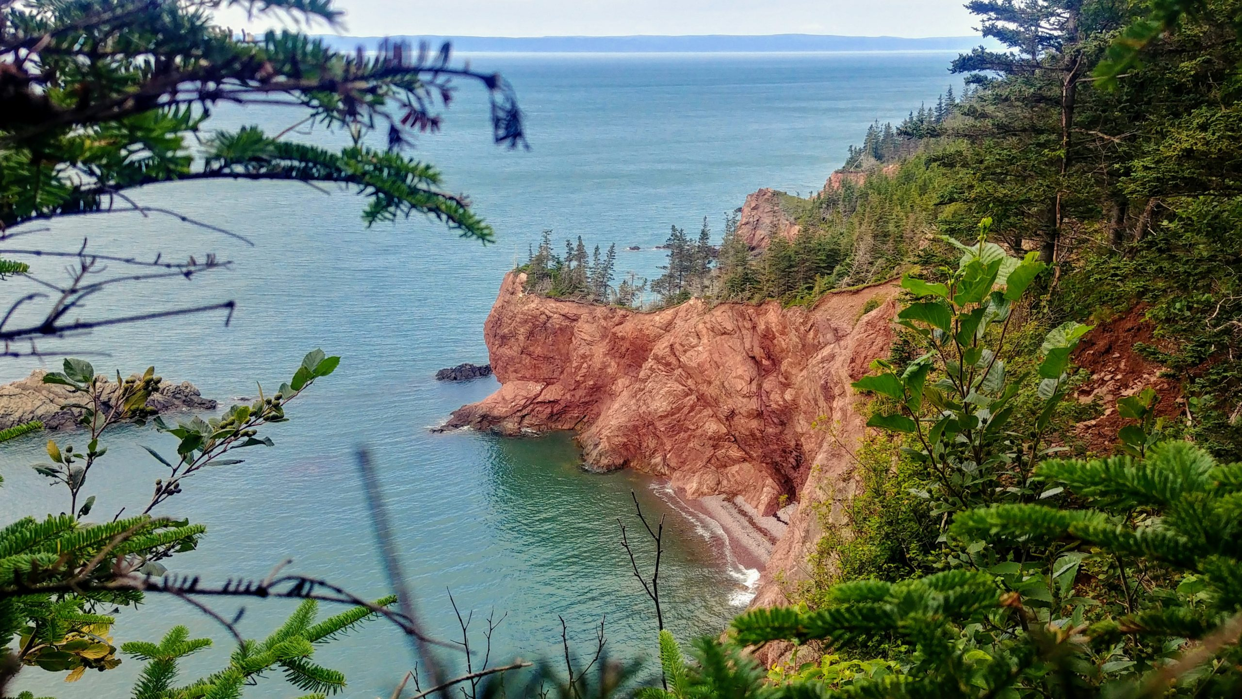 7 Boucle du Cap Chignecto en solo voyage Nouvelle-Écosse Canada