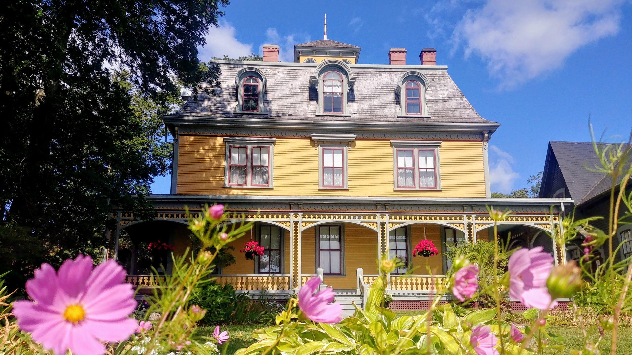 Charlottetown Beaconsfield House que voir voyage Ile du prince édouard
