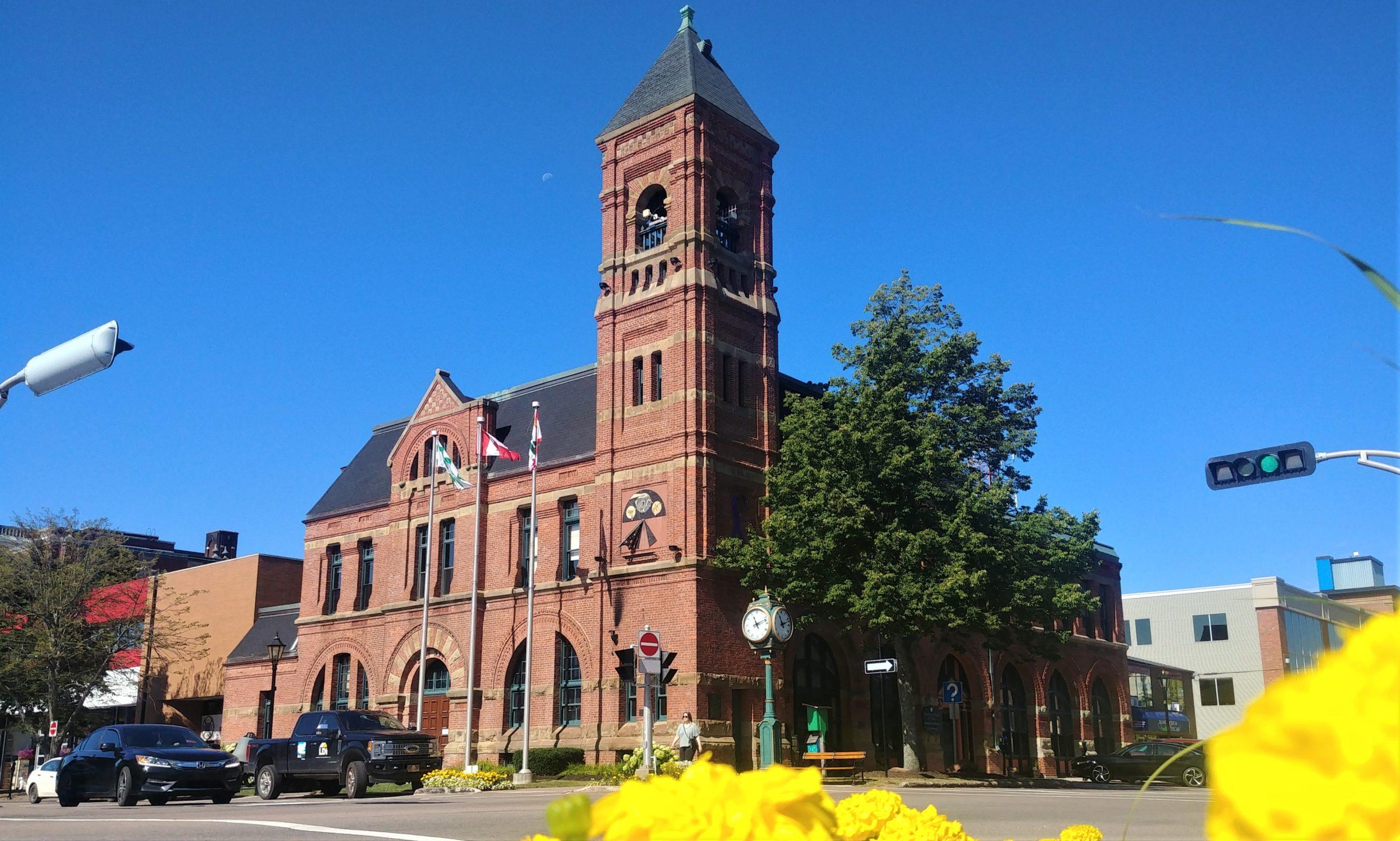 Charlottetown hôtel de ville visite centre historique que voir blog voyage ile prince edouard