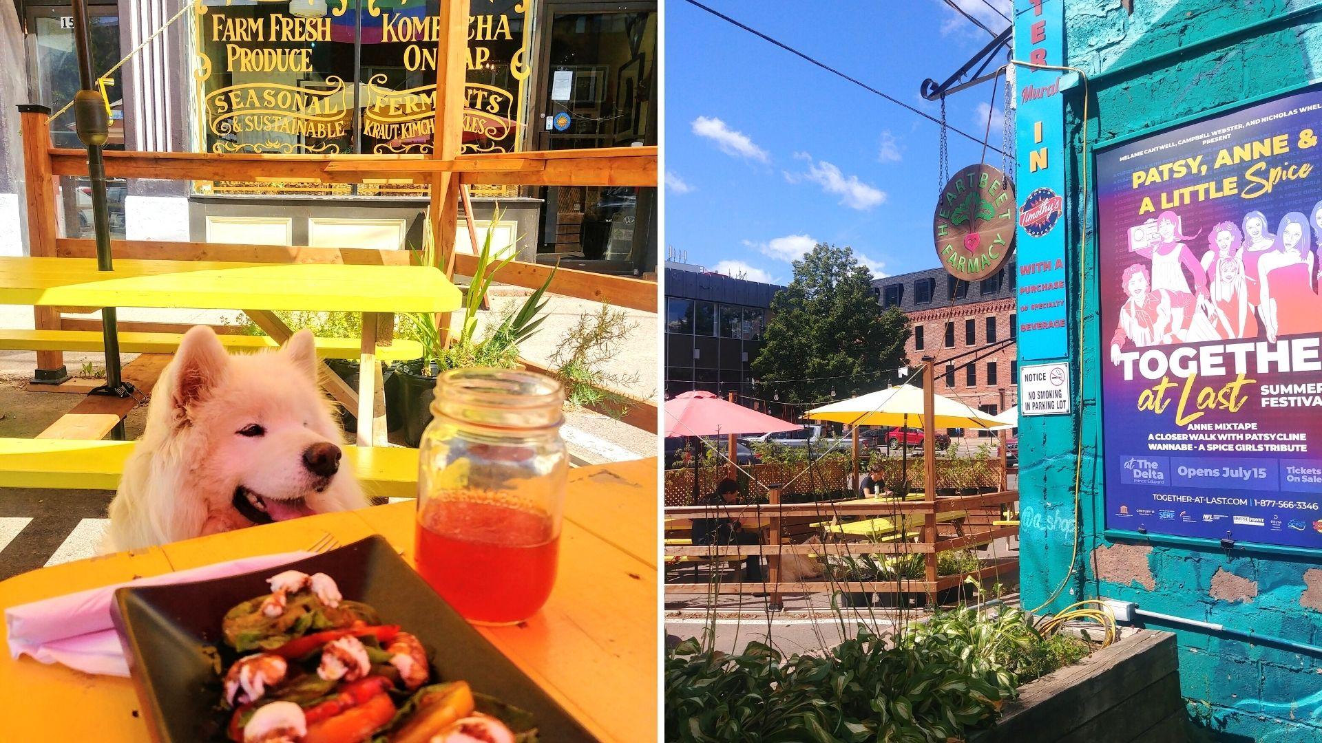 Charlottetown où manger bonnes adresses cafés restaurants
