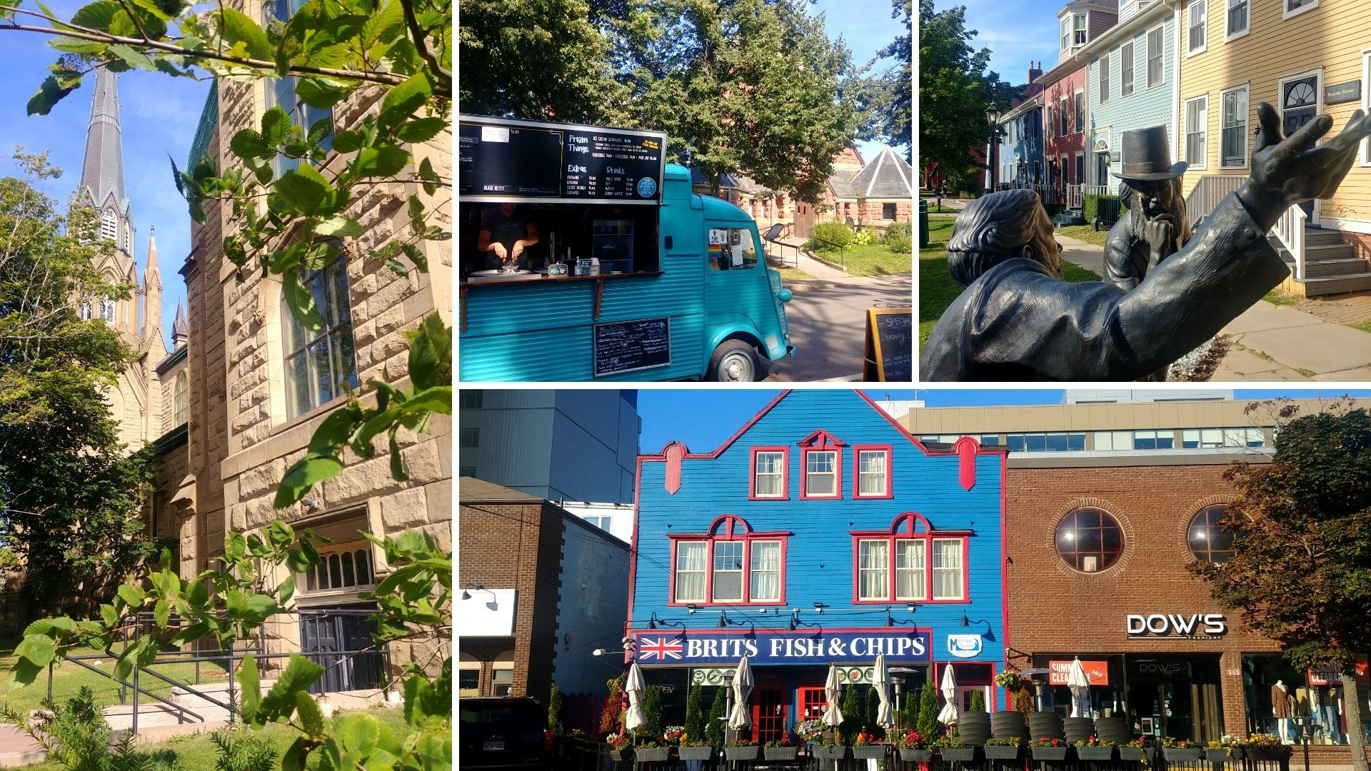 Charlottetown visiter le centre-ville que voir que faire où dormir