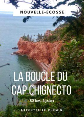 Le sentier du Cap Chignecto - Nouvelle-Écosse, Canada