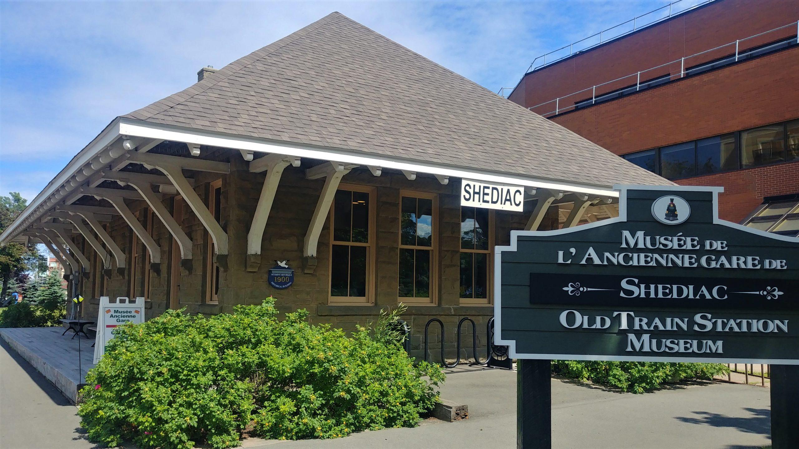 Musée ancienne gare Shediac Nouveau-Brunswick Canada
