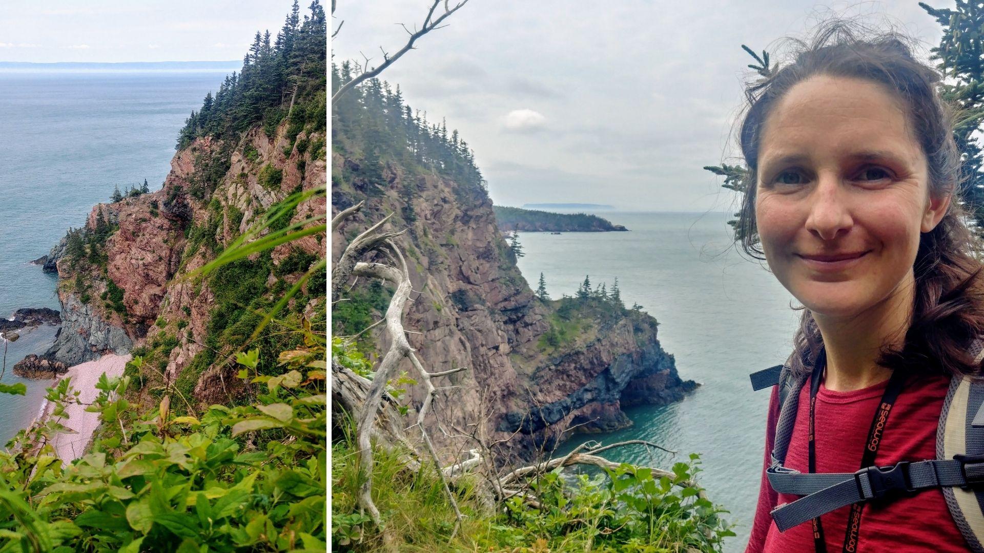 Randonnée solo parc provincial sentier Cape Chignecto Nouvelle-Écosse Canada blog voyage Arpenter le chemin