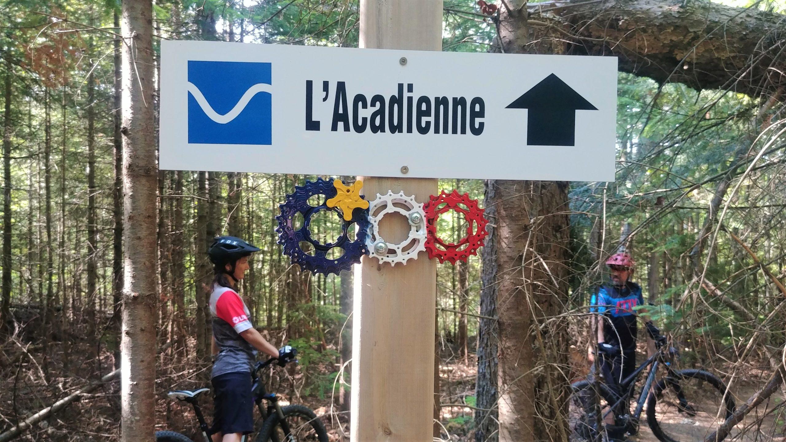 Sentiers vélo montagne MFB Chaleur Bathurst