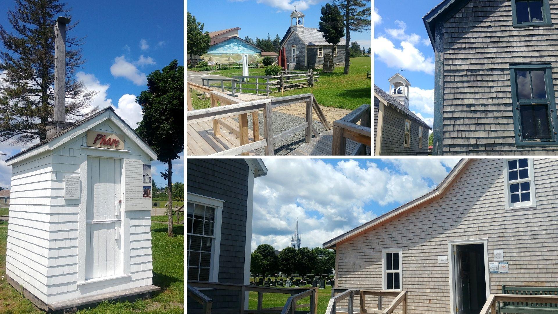 Village pionniers Grande-Digue Nouveau-Brunswick Canada