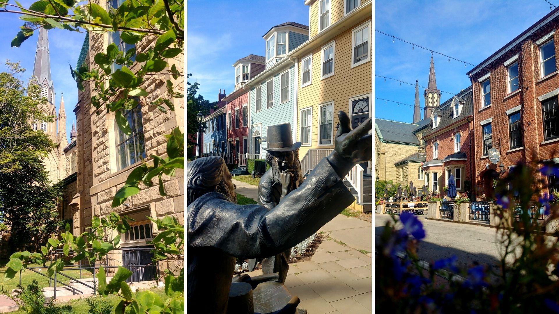 Charlottetown PEI que voir centre-ville rue Great George