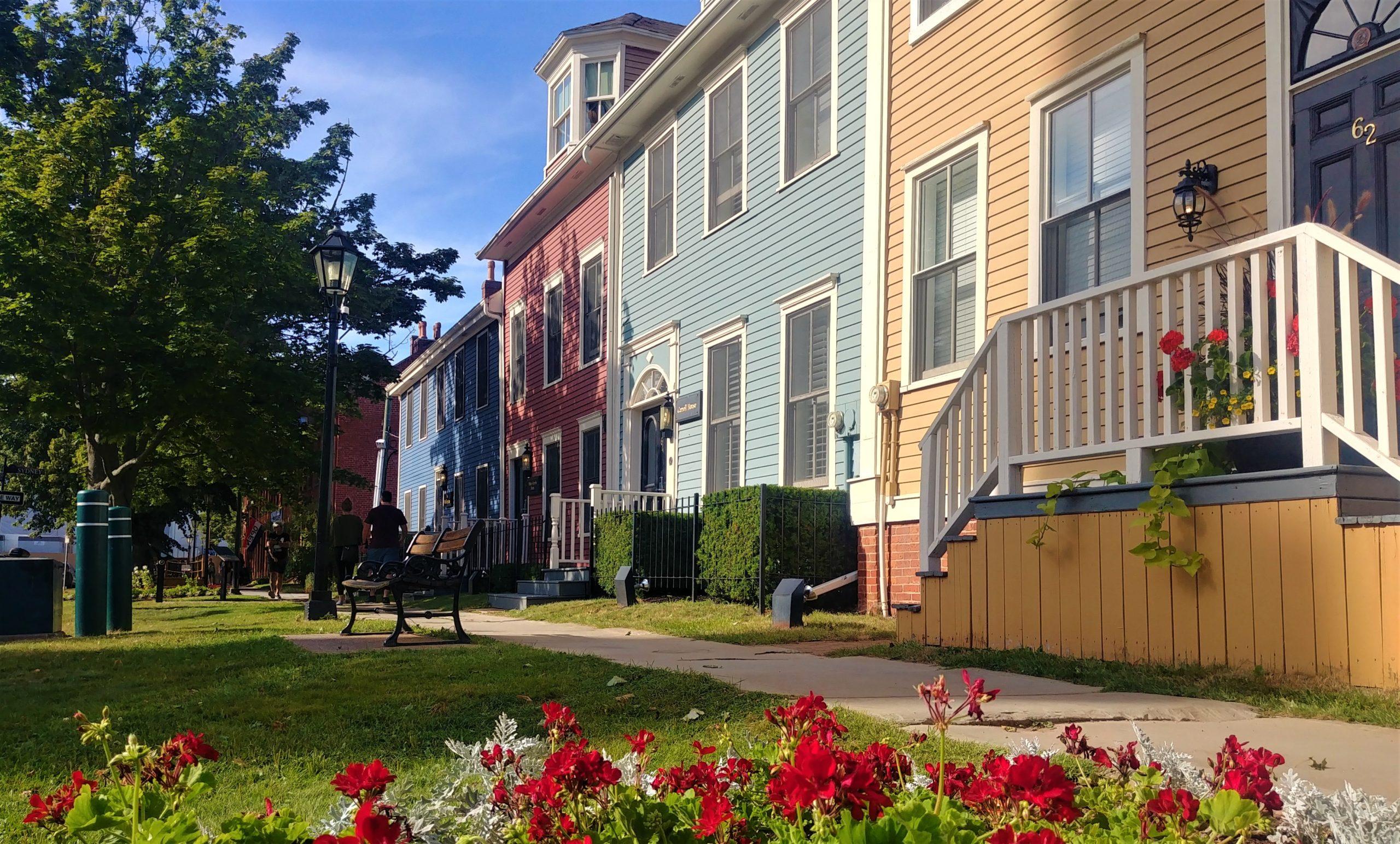 Charlottetown centre-ville que voir rue Great George blog voyage Ile du Prince Edouard Arpenter le chemin